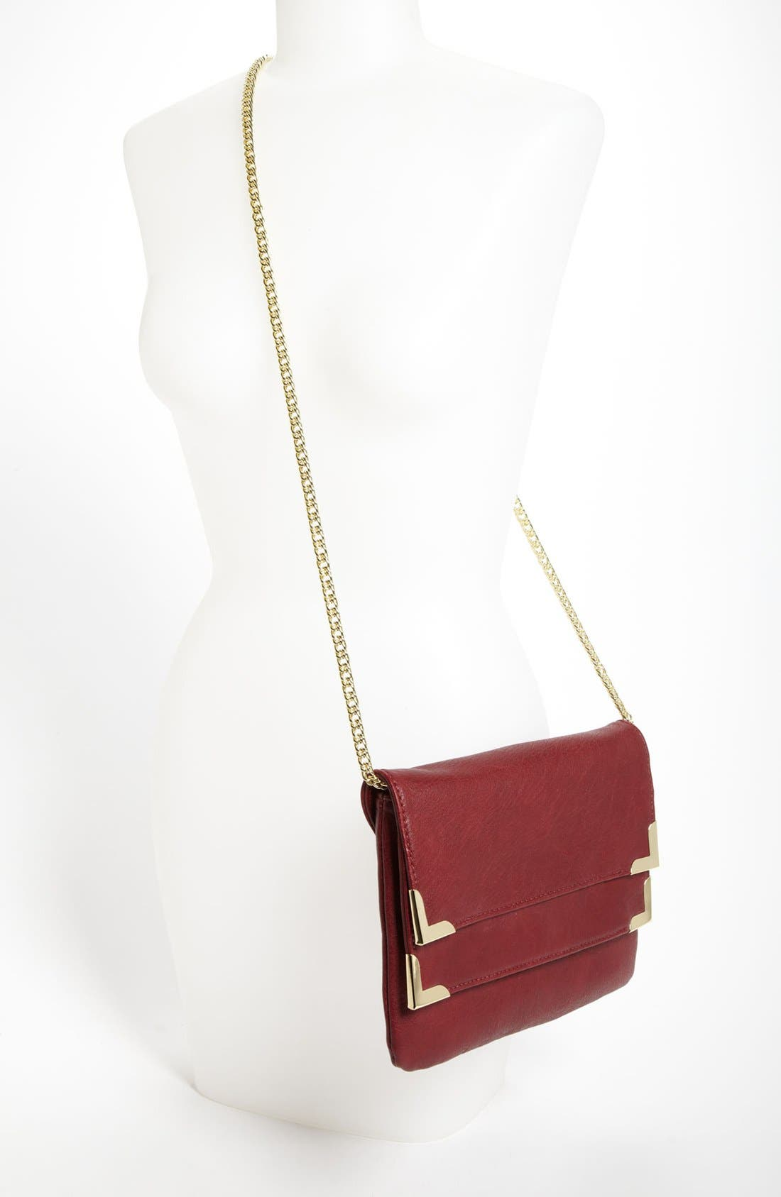 Alternate Image 2  - Danielle Nicole Faux Leather Clutch