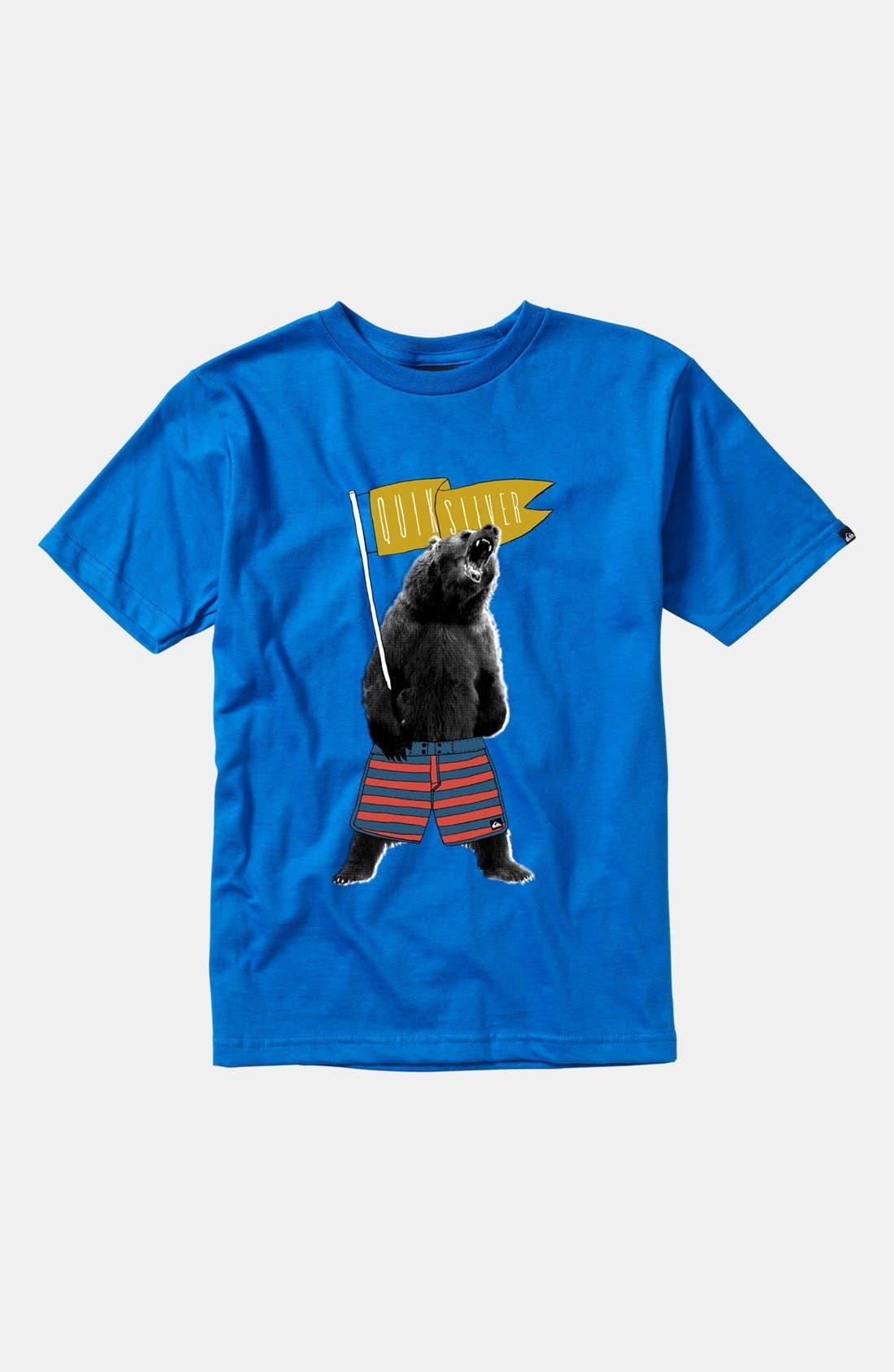 Alternate Image 1 Selected - Quiksilver 'Champ' T-Shirt (Little Boys & Big Boys)