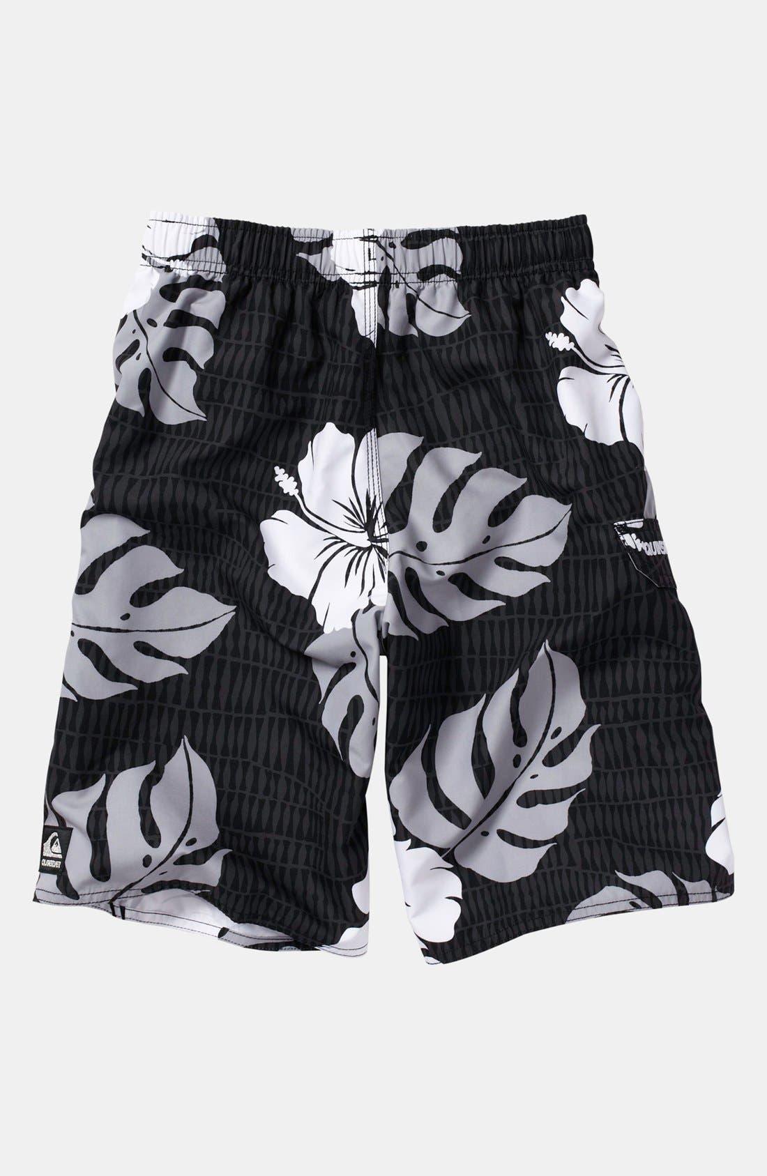Alternate Image 2  - Quiksilver 'Betta' Volley Shorts (Big Boys)