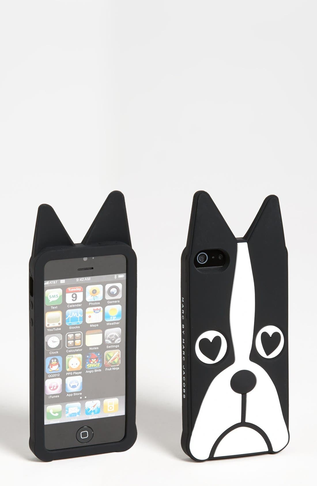 Alternate Image 1 Selected - MARC BY MARC JACOBS 'Shorty the Boxer' iPhone 5 & 5S Case