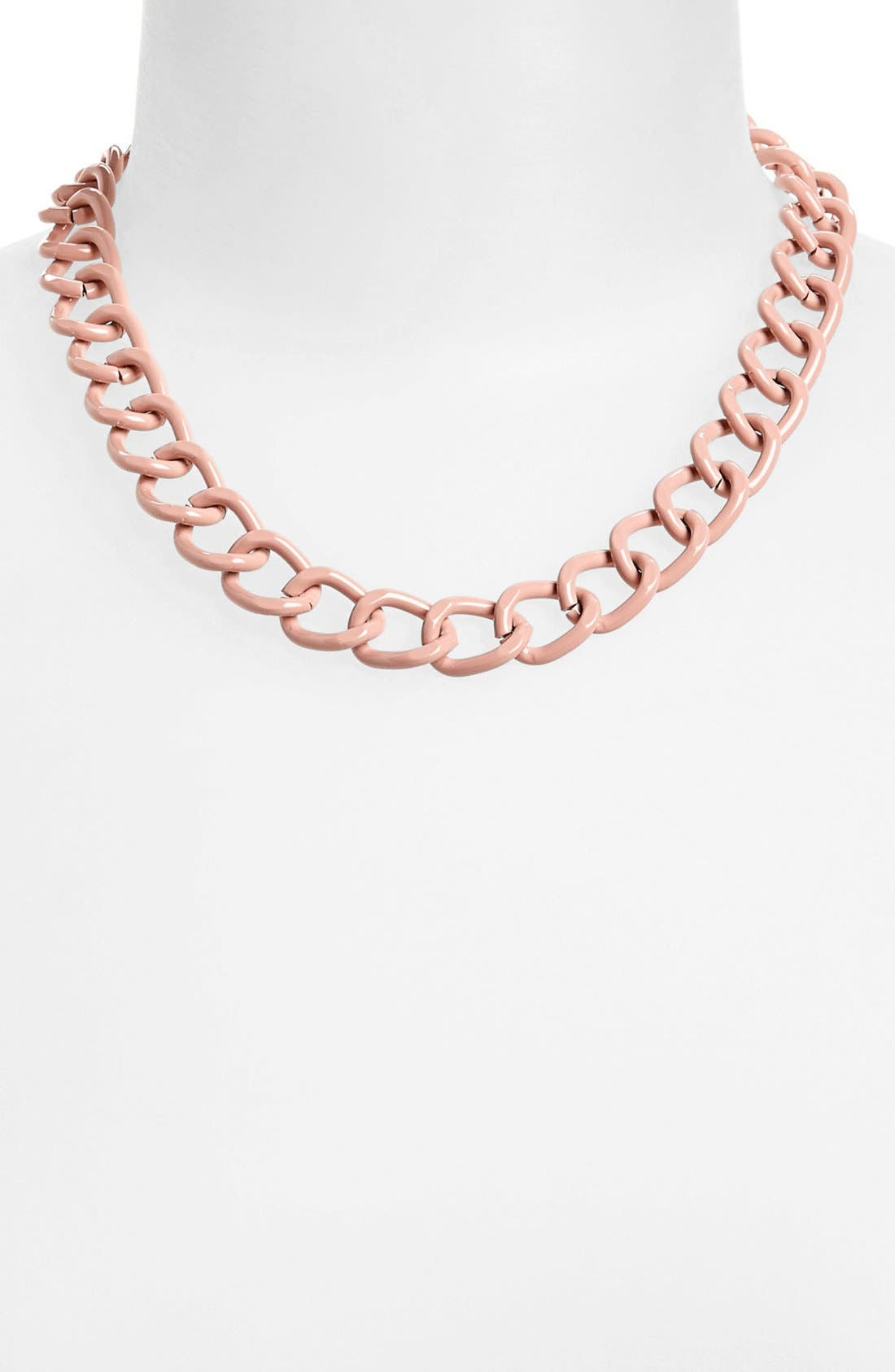 Alternate Image 1 Selected - Topshop Curb Chain Necklace
