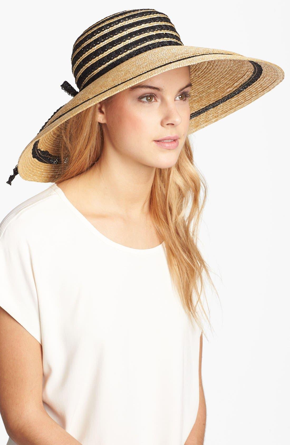Main Image - Nordstrom 'Drama' Wide Brim Hat
