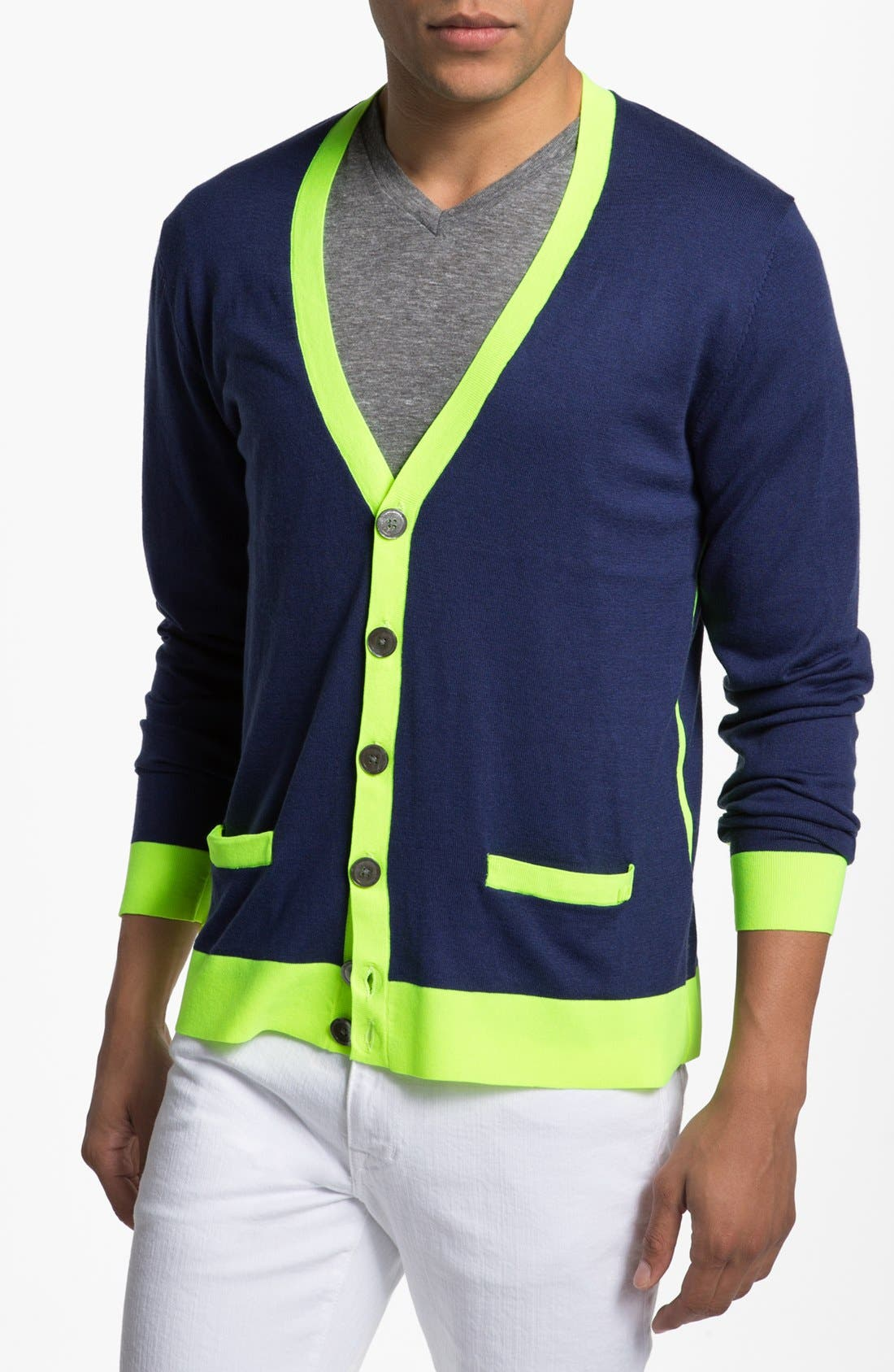 Main Image - MARC BY MARC JACOBS Silk Blend Cardigan