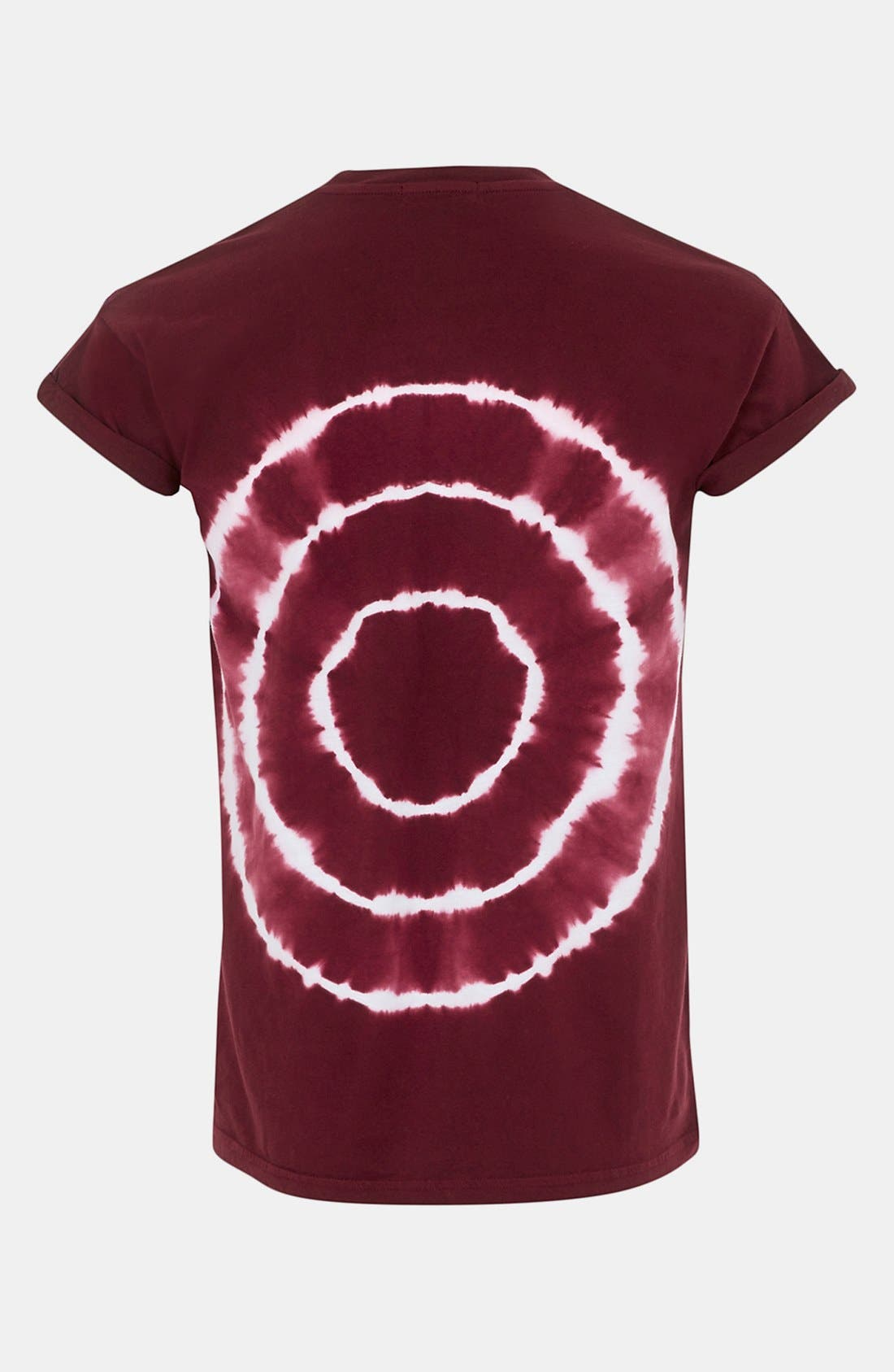 Alternate Image 2  - Topman Circle Tie Dye T-Shirt