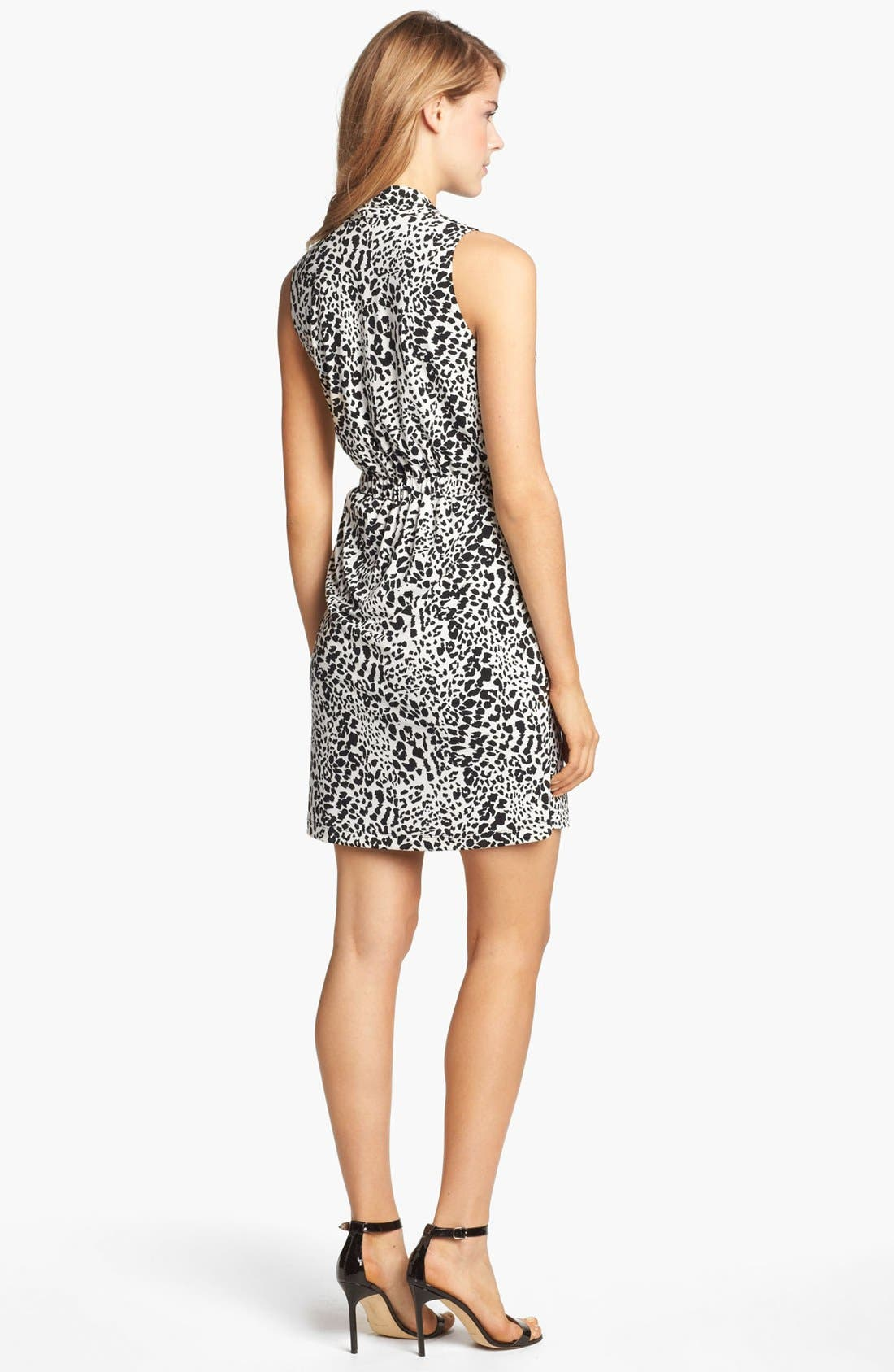 Alternate Image 2  - Donna Ricco Print Jersey Dress