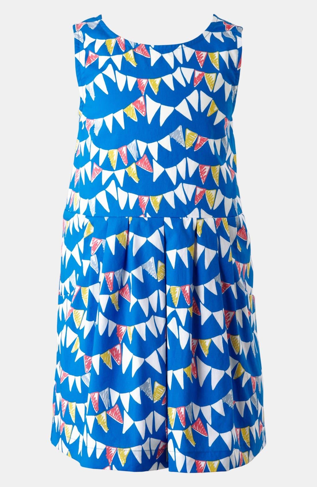 Alternate Image 1 Selected - Mini Boden 'Tulip' Dress (Toddler)