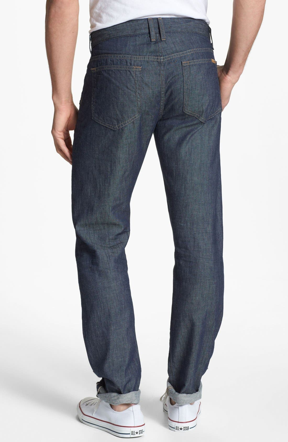 Alternate Image 1 Selected - Joe's 'Brixton' Slim Fit Selvedge Jeans (Laures)