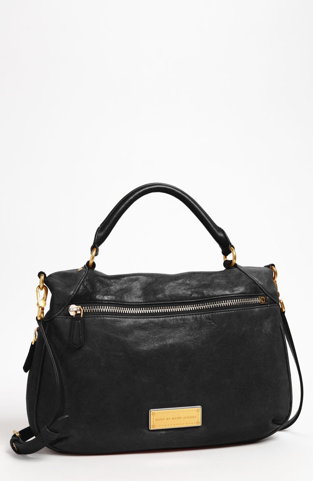 Main Image - MARC BY MARC JACOBS 'Washed Up - Amee' Leather Crossbody Satchel