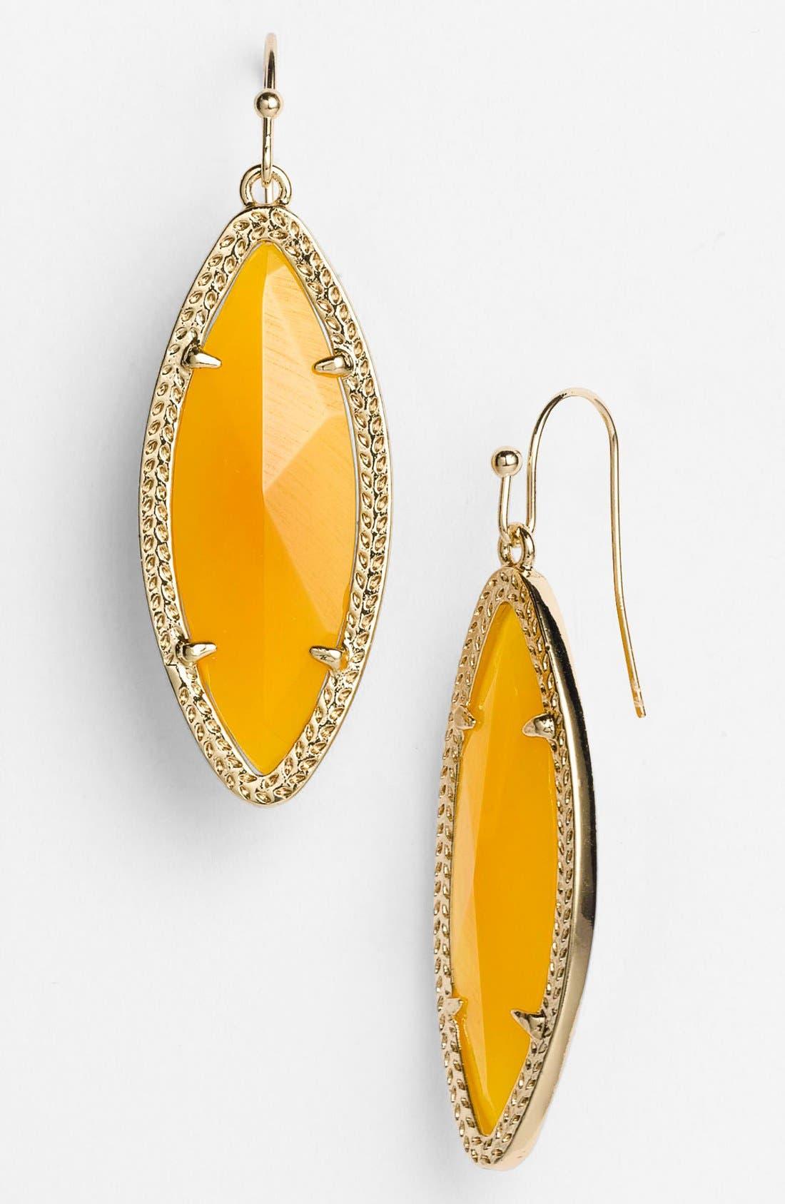 Main Image - Kendra Scott 'Dora' Stone Drop Earrings (Nordstrom Exclusive)
