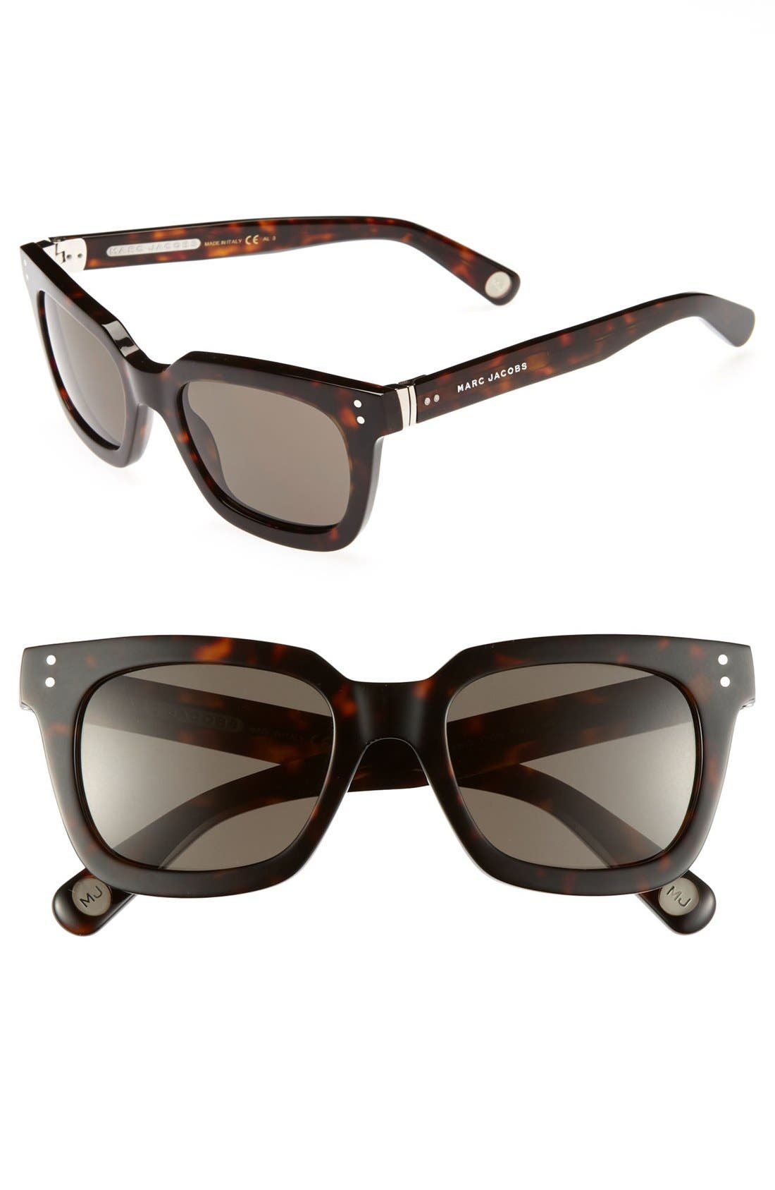 Main Image - MARC JACOBS 50mm Retro Sunglasses