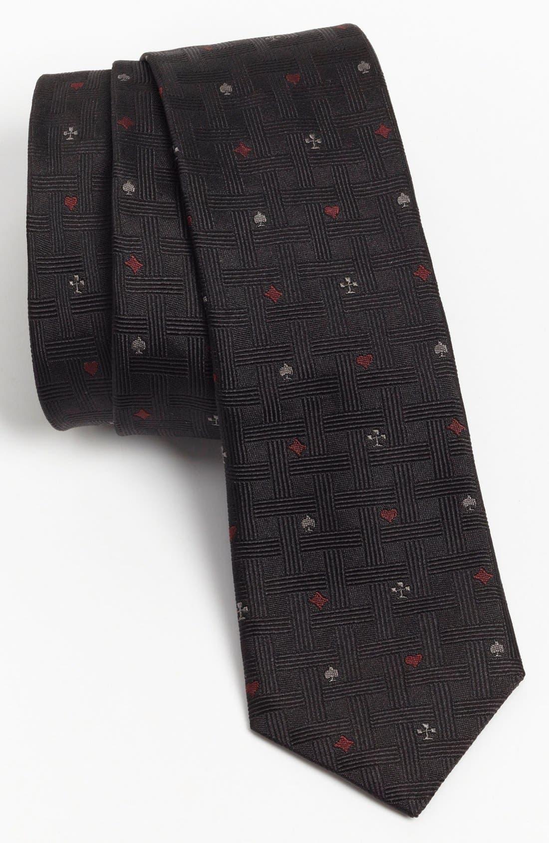 Alternate Image 1 Selected - John Varvatos Star USA Woven Silk Tie