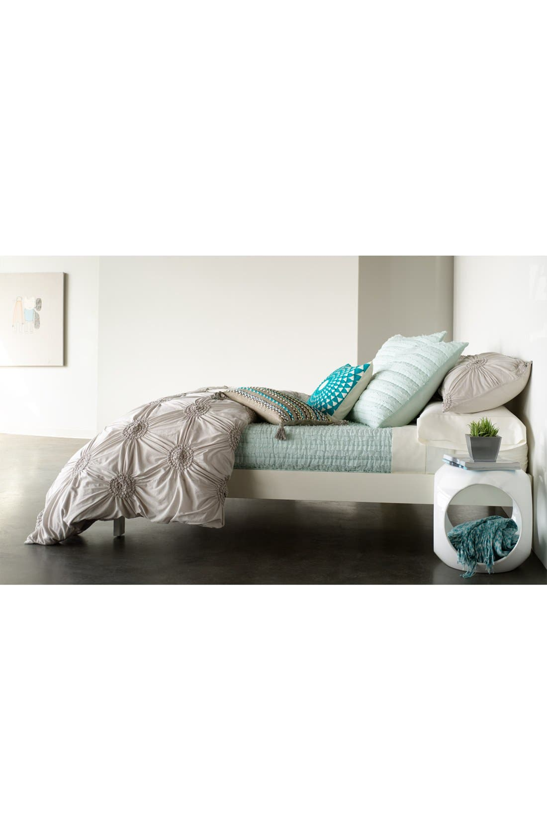 Alternate Image 3  - Nordstrom at Home Space Dye Knit Throw