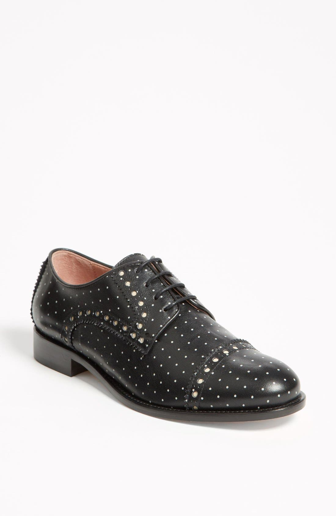 Alternate Image 1 Selected - RED Valentino 'Polka Dot' Oxford