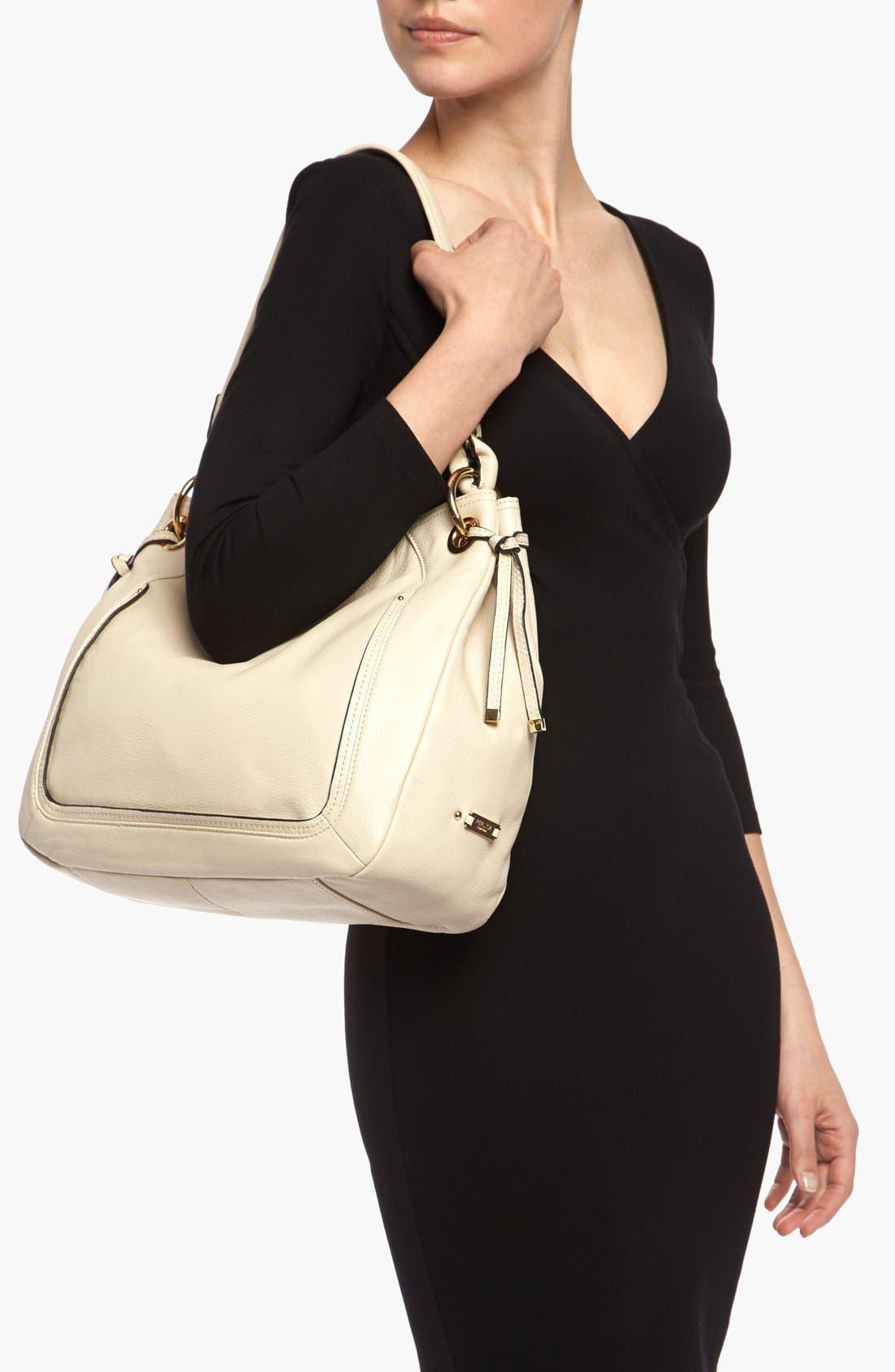 Alternate Image 2  - Perlina 'Simone' Leather Hobo, Medium