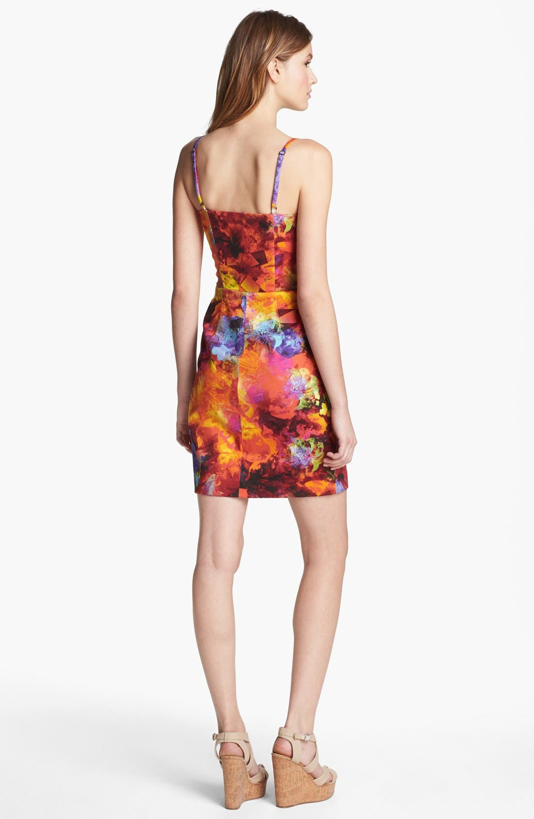 Alternate Image 2  - LABEL by five twelve Print Sheath Dress