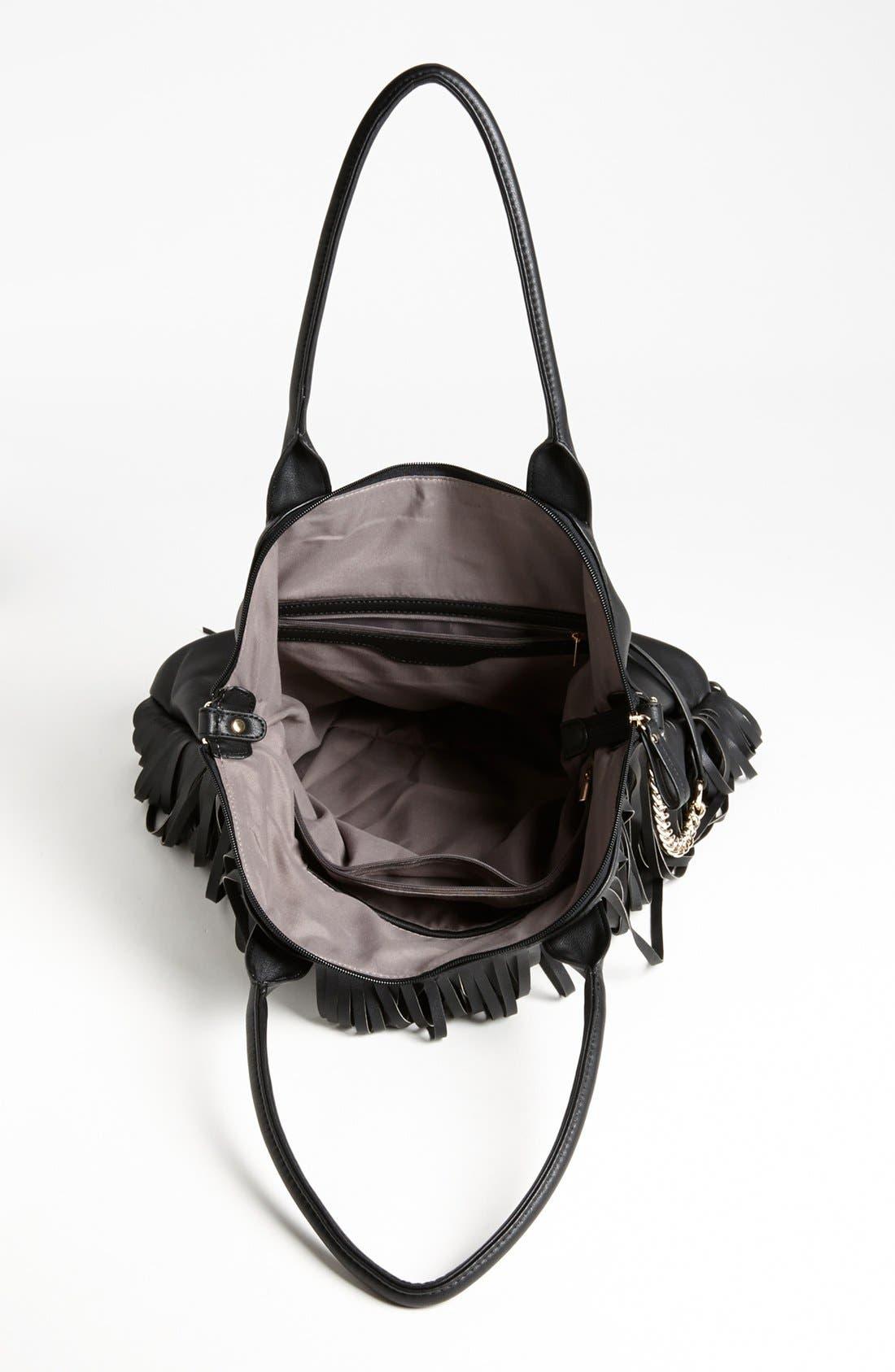 Alternate Image 3  - Emperia Fringe Shoulder Bag, Large