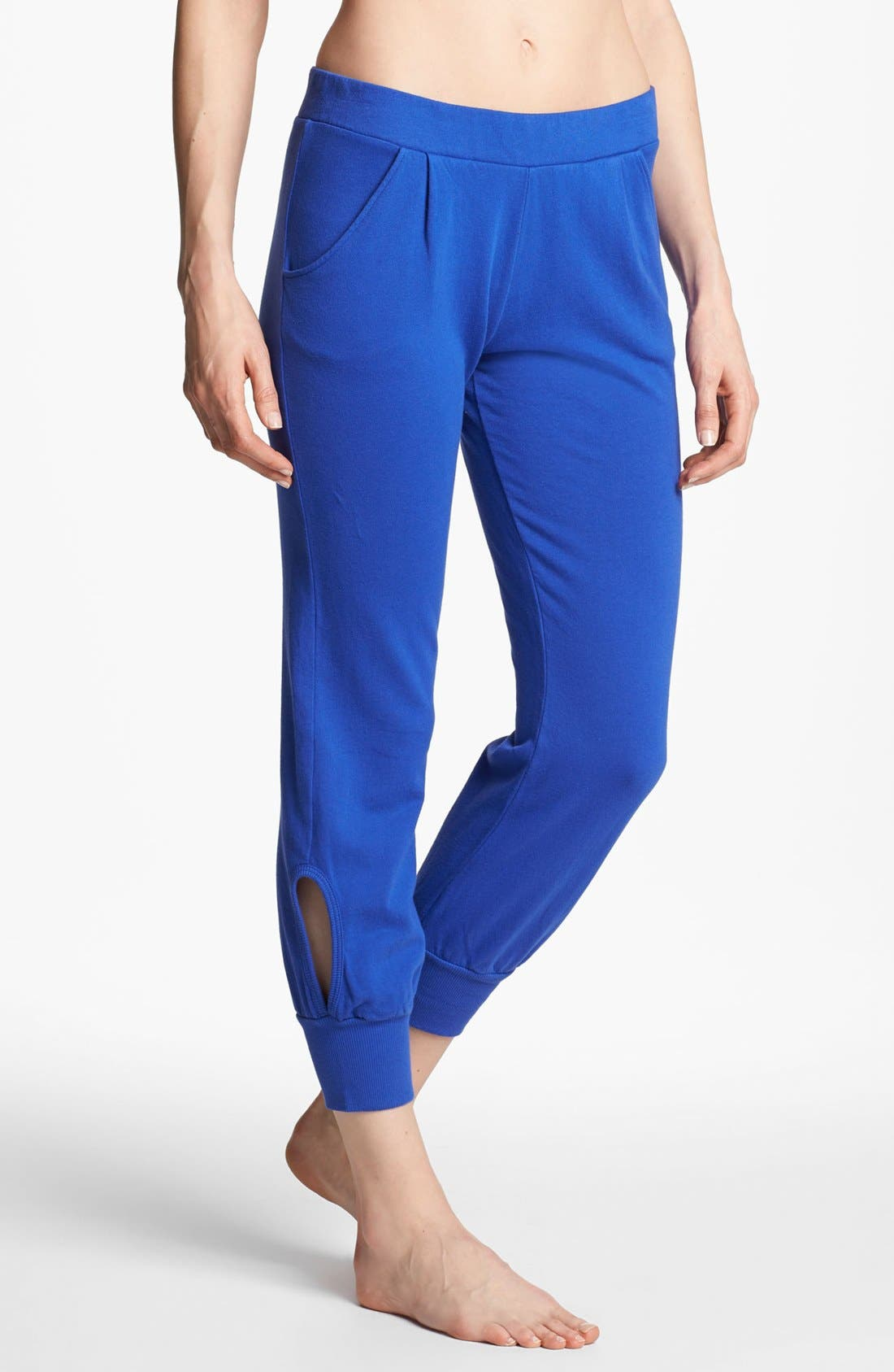 Alternate Image 1 Selected - Solow Keyhole Ankle Pants