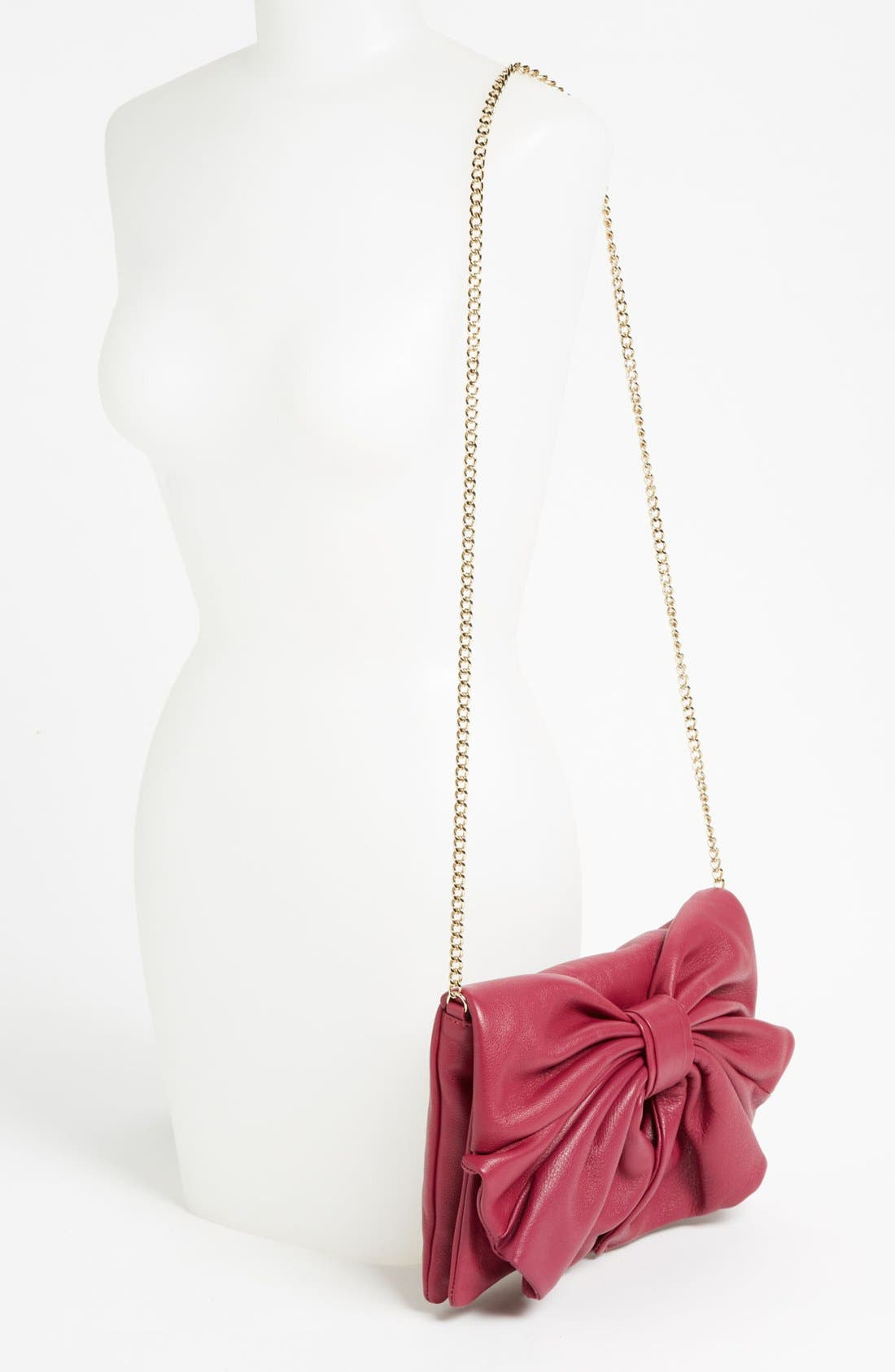 Alternate Image 2  - RED Valentino 'Bow' Leather Clutch