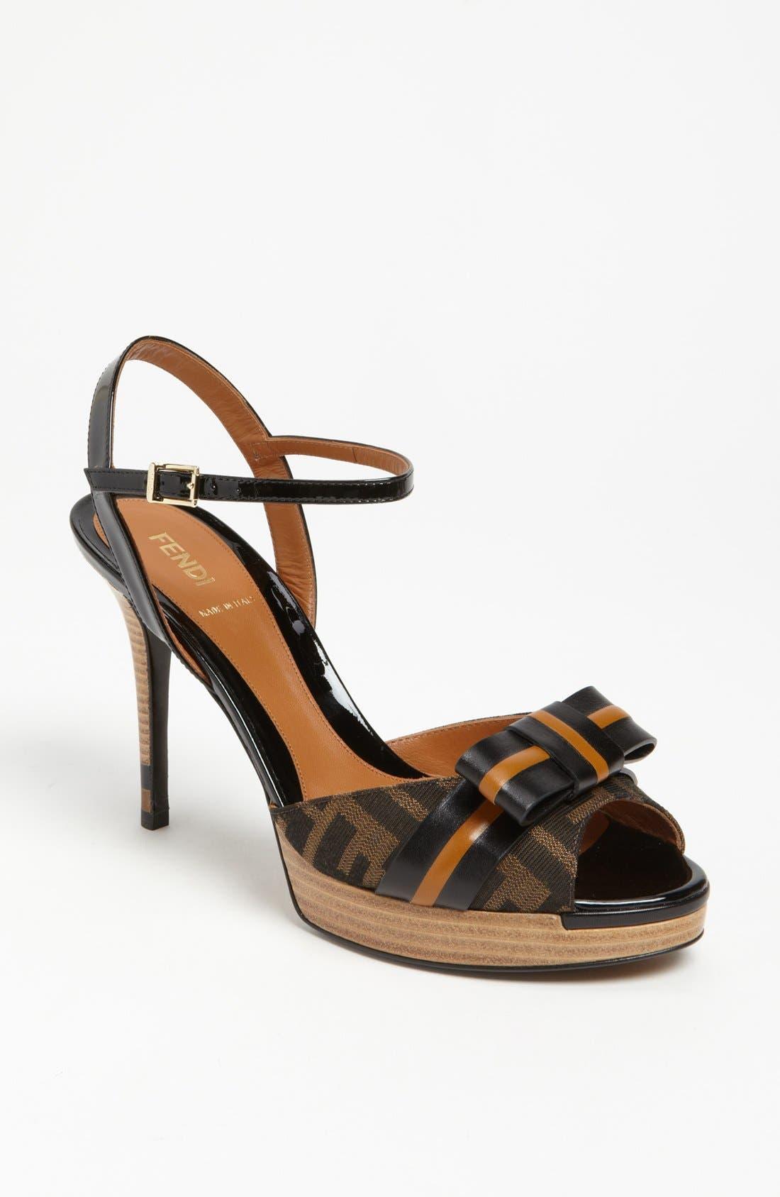 Alternate Image 1 Selected - Fendi 'Pride & Prejudice' Sandal
