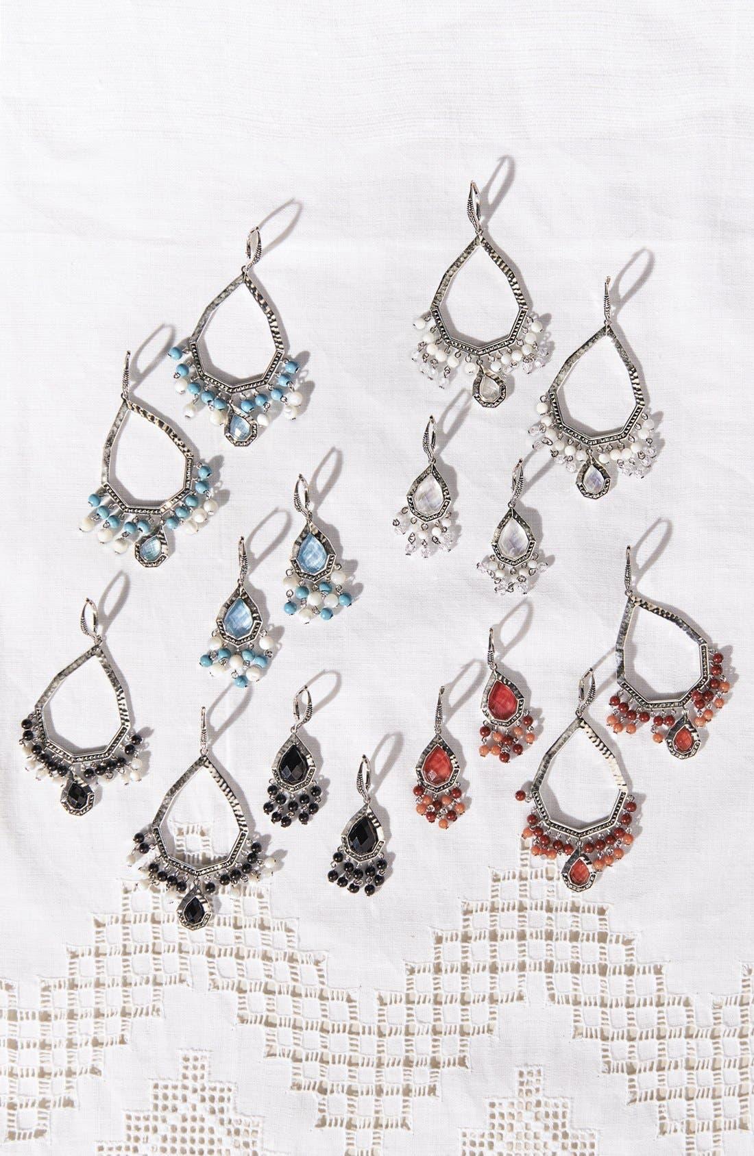 Alternate Image 2  - Judith Jack Large Teardrop Chandelier Earrings