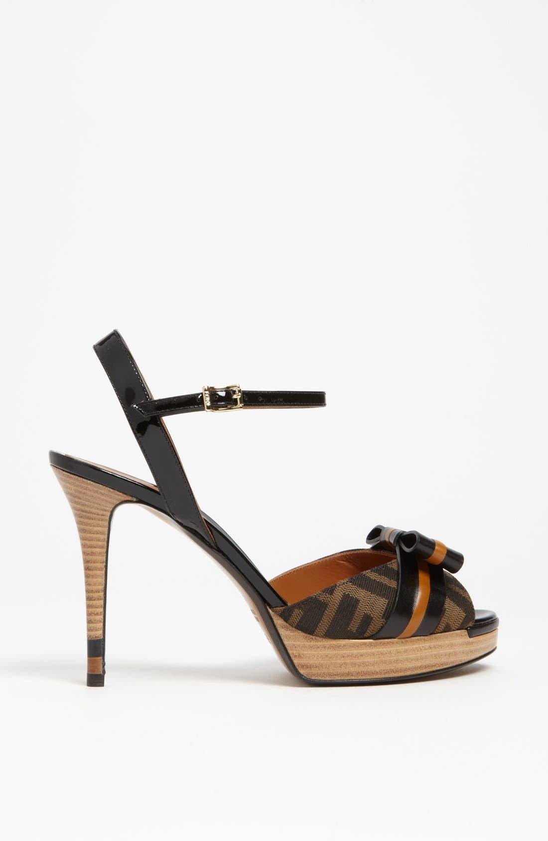 Alternate Image 4  - Fendi 'Pride & Prejudice' Sandal