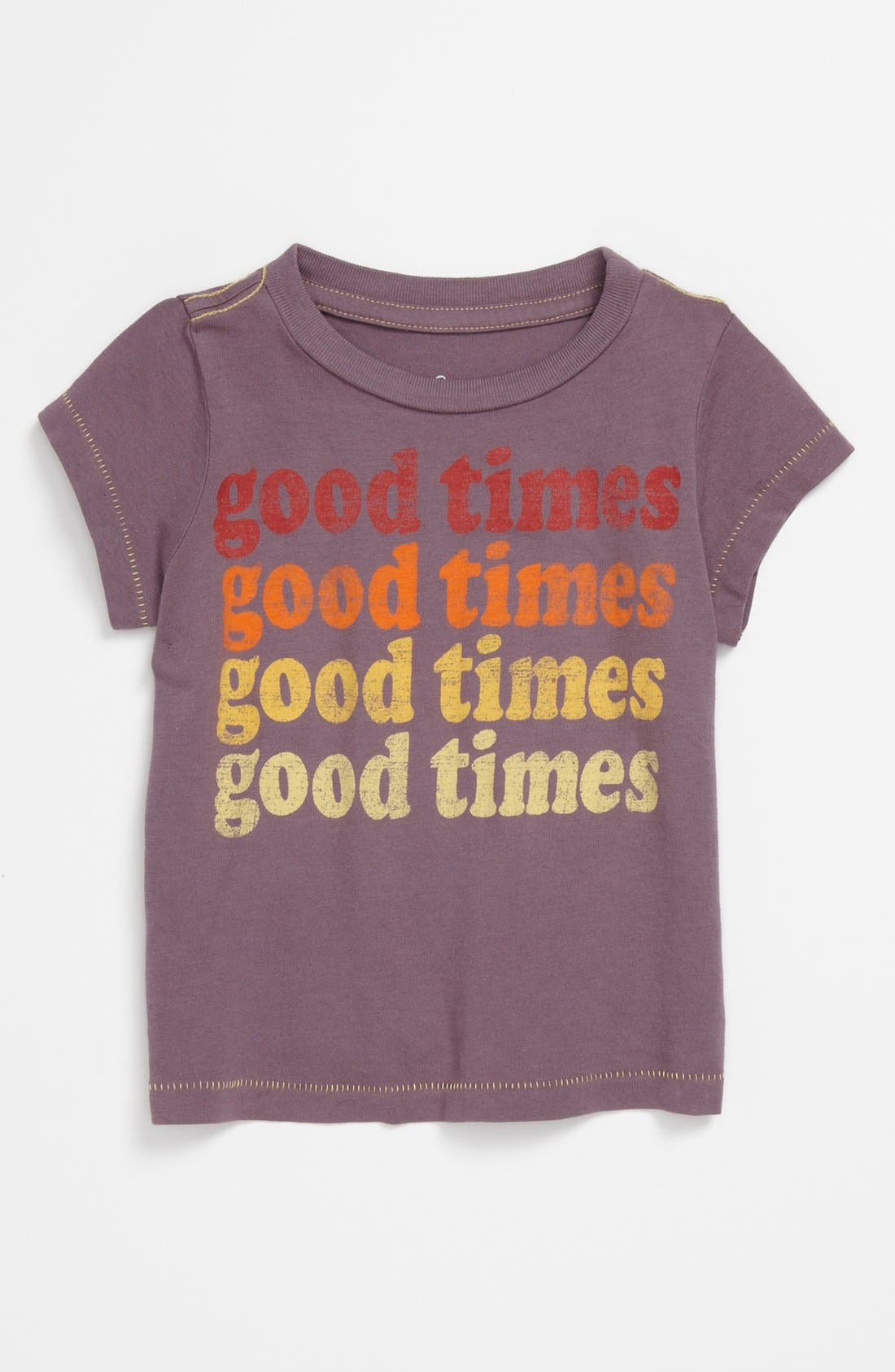 Alternate Image 1 Selected - Peek 'Good Times' Tee (Baby)