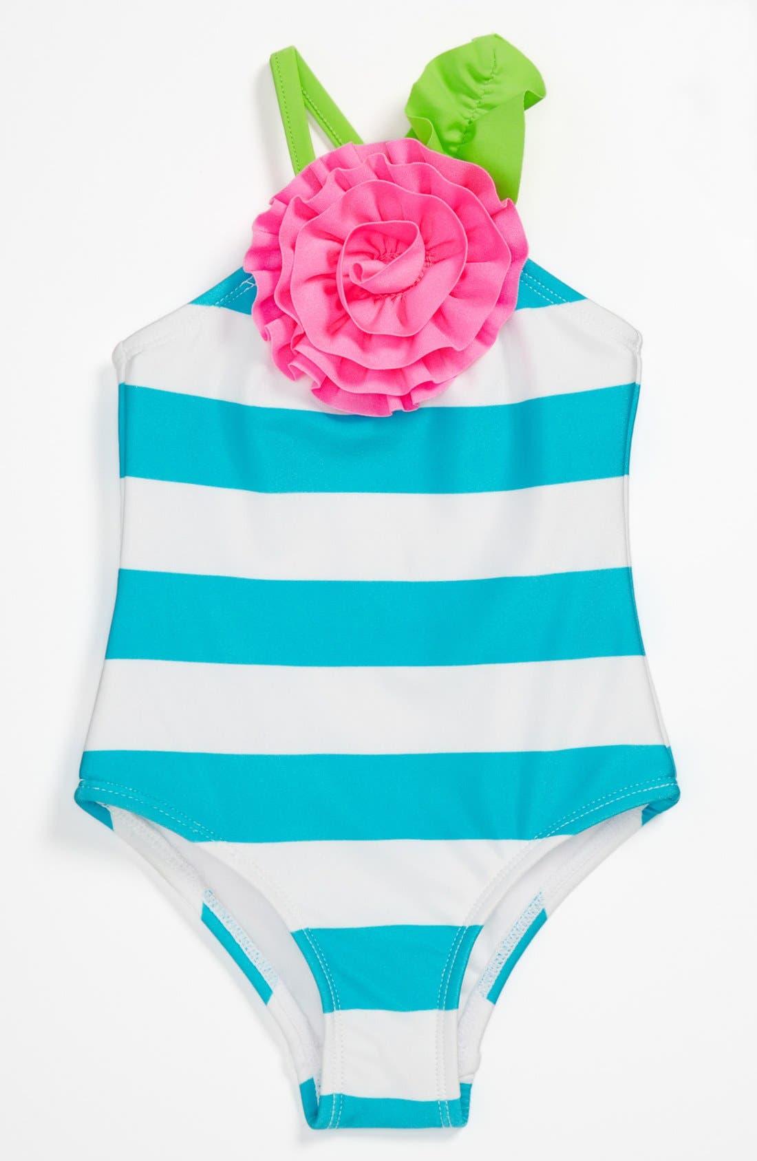 Main Image - Love U Lots One Piece Swimsuit (Infant)