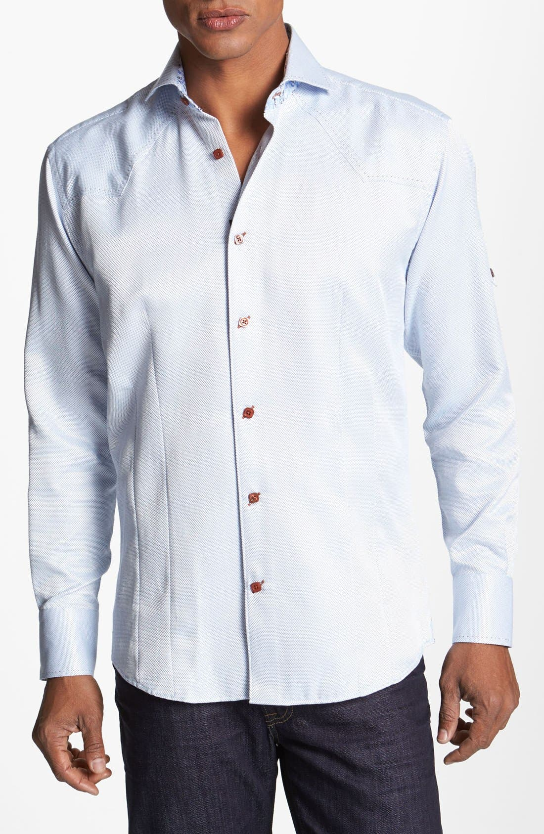 Alternate Image 1 Selected - Bogosse 'Matt' Trim Fit Sport Shirt