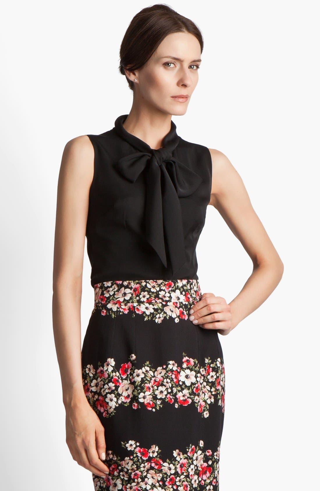 Main Image - Dolce&Gabbana Stretch Georgette Blouse