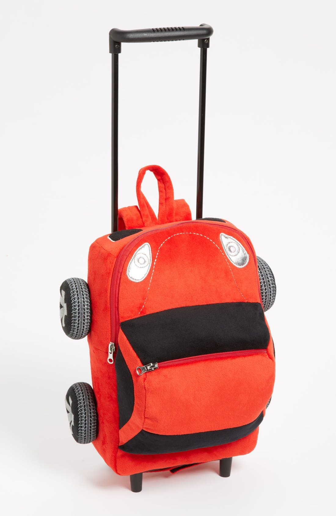 Alternate Image 1 Selected - Popatu 'Red Car' Rolling Backpack (Toddler Boys)