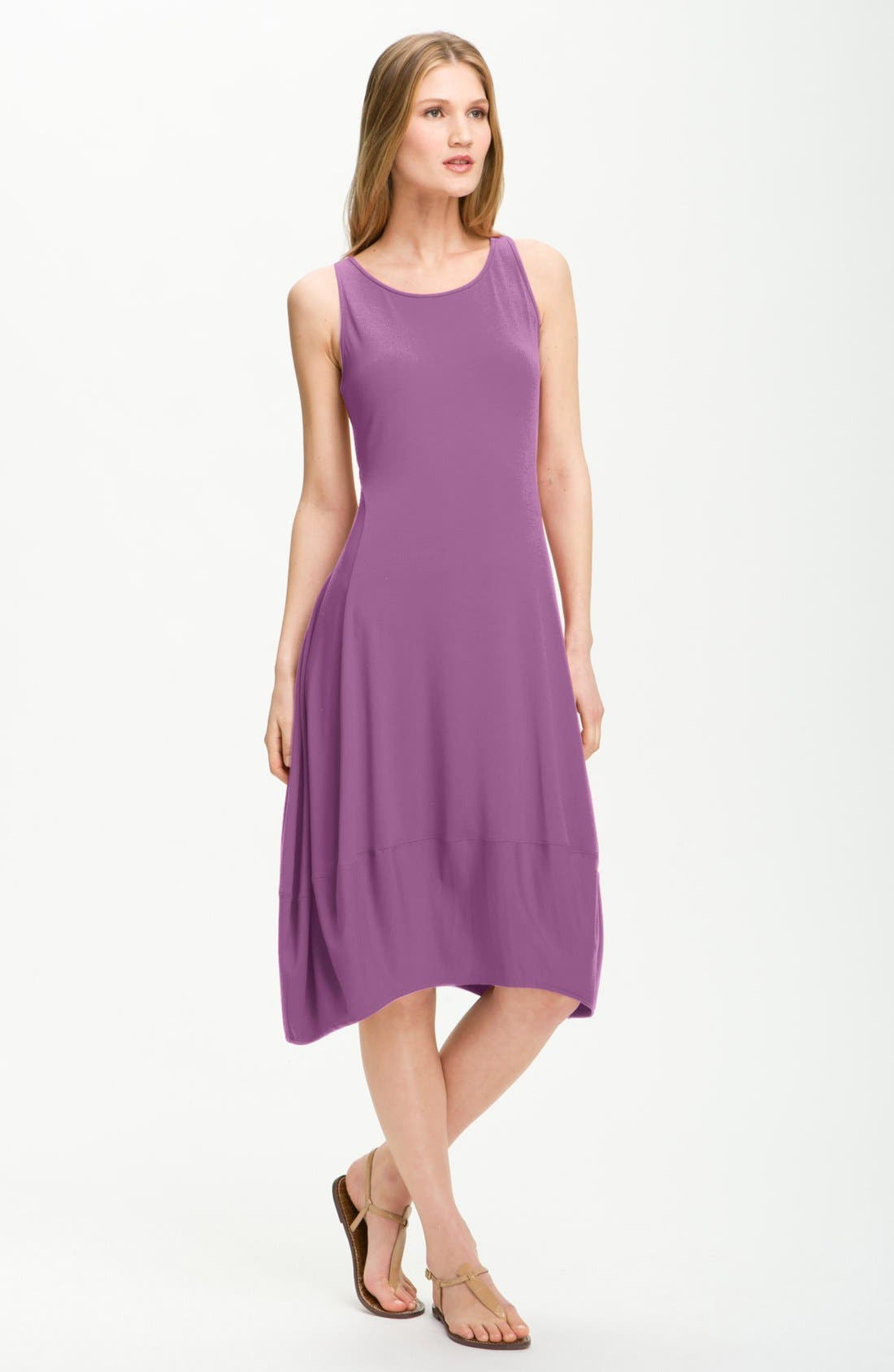 Alternate Image 1 Selected - Eileen Fisher Lantern Dress