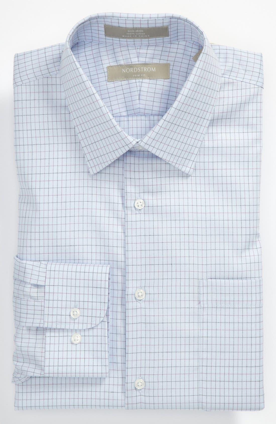Alternate Image 1 Selected - Nordstrom Trim Fit Dress Shirt