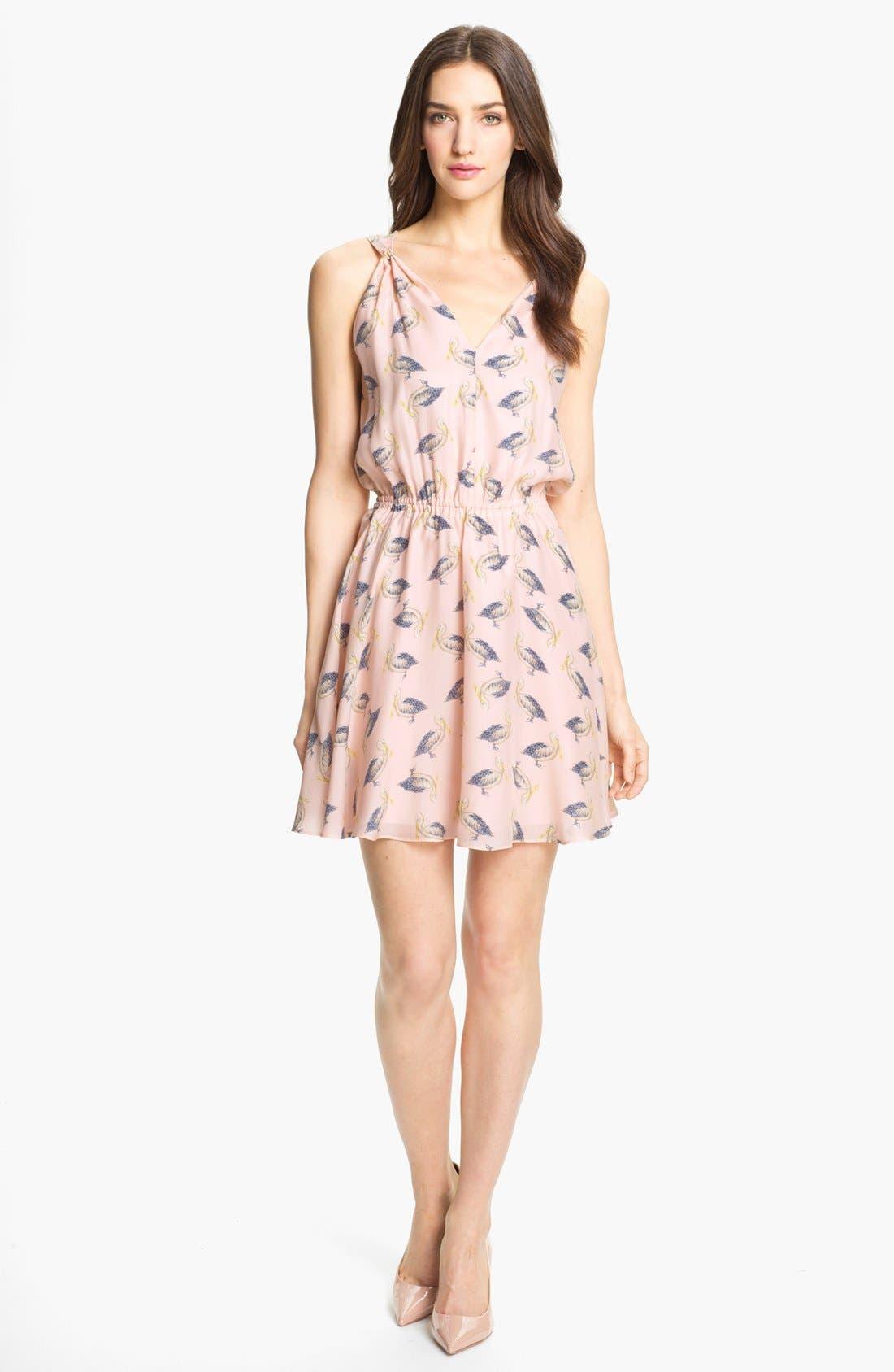 Alternate Image 1 Selected - Milly 'Julie' Silk Blouson Dress