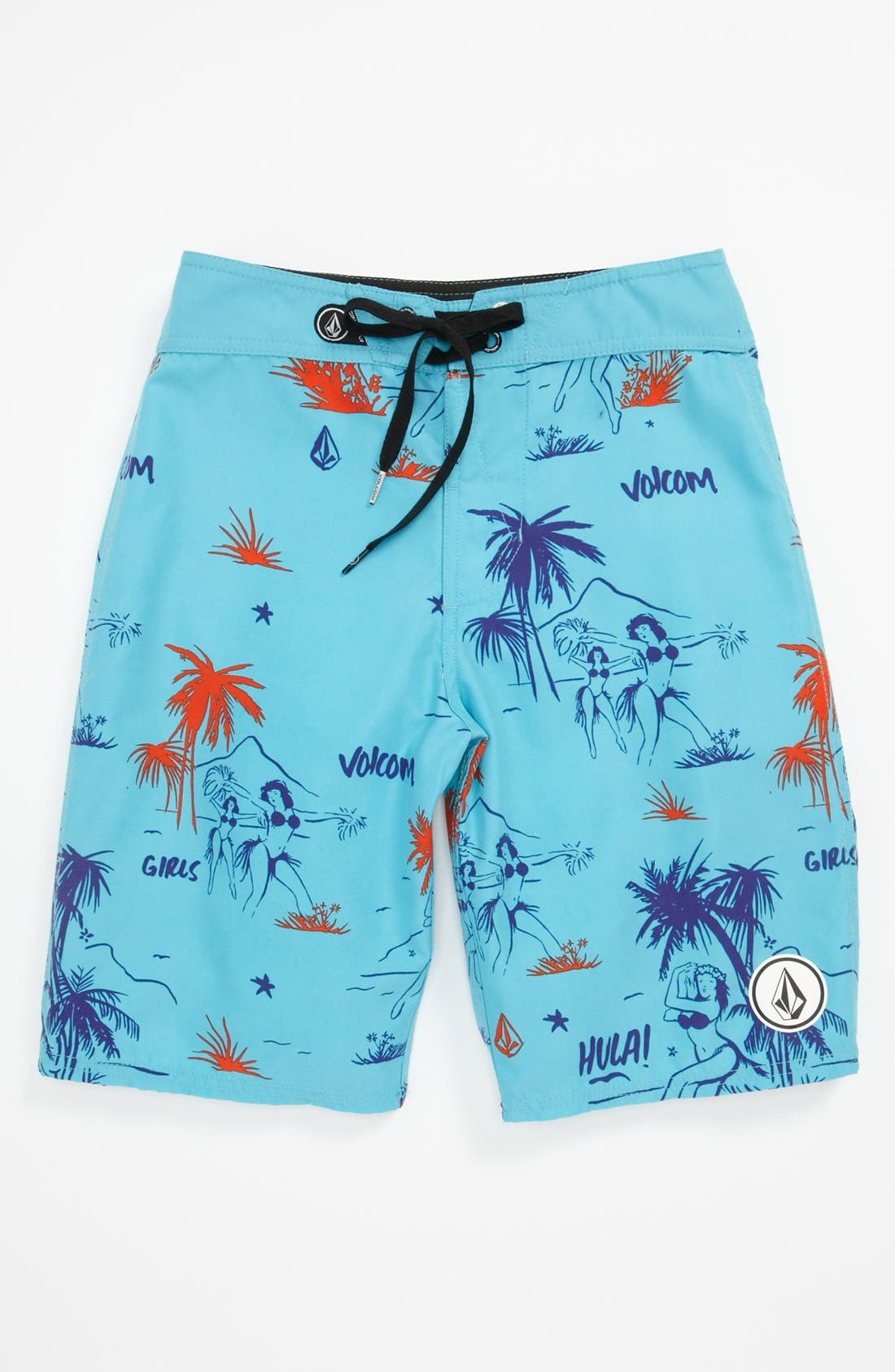 Alternate Image 1 Selected - Volcom '45th St.' Board Shorts (Big Boys)