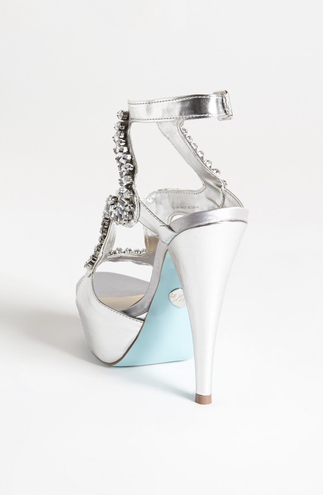 Alternate Image 2  - Blue by Betsey Johnson 'Ring' Sandal