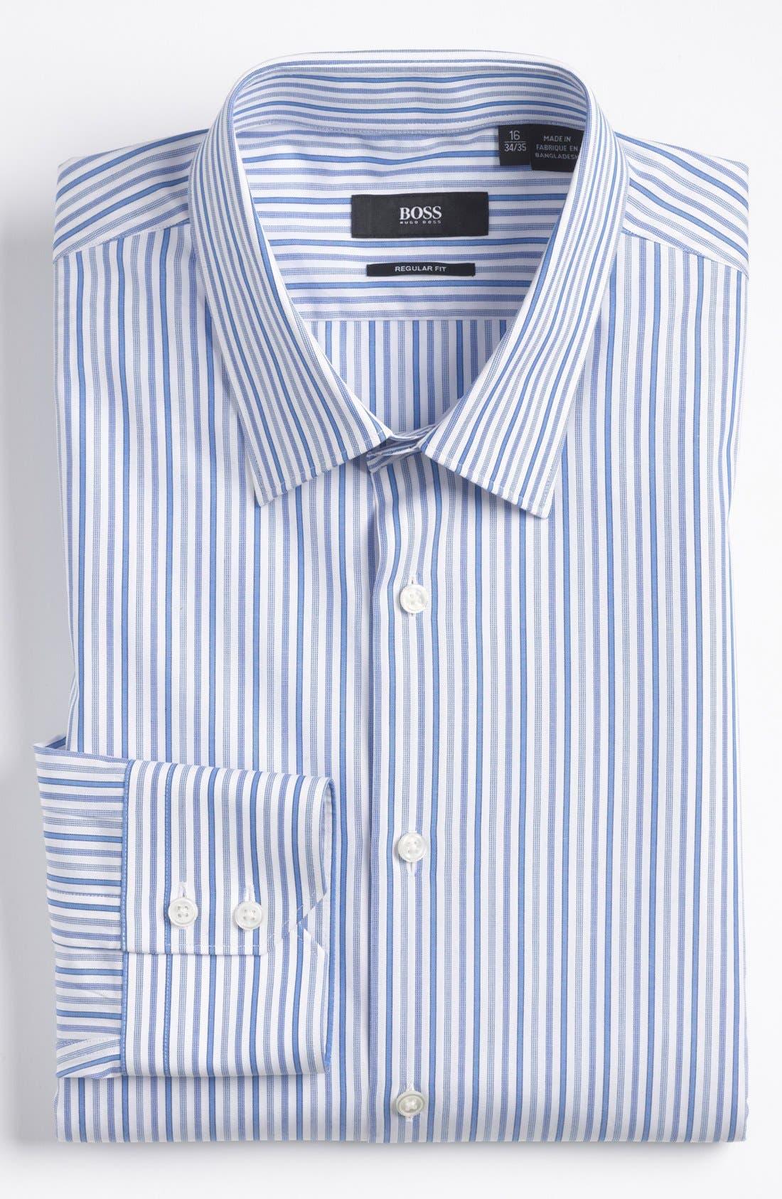 Alternate Image 1 Selected - BOSS HUGO BOSS 'Gulio' Regular Fit Dress Shirt