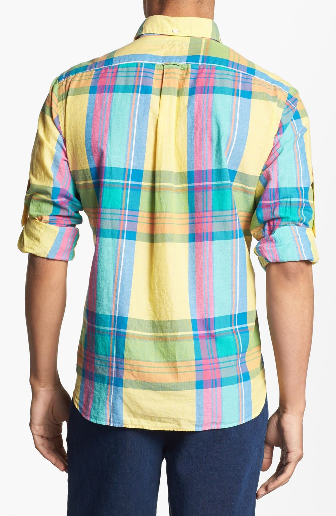 Alternate Image 2  - Gant Rugger Plaid Woven Shirt