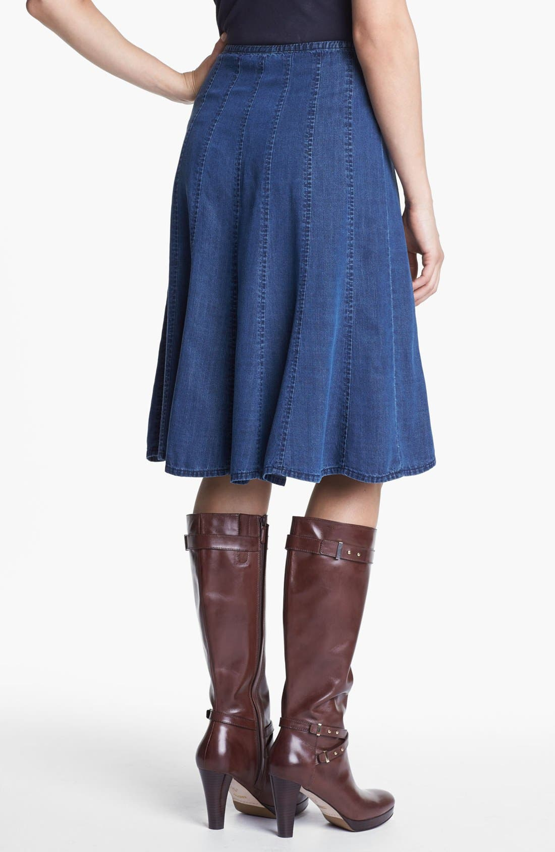 Alternate Image 3  - NIC+ZOE Denim Skirt