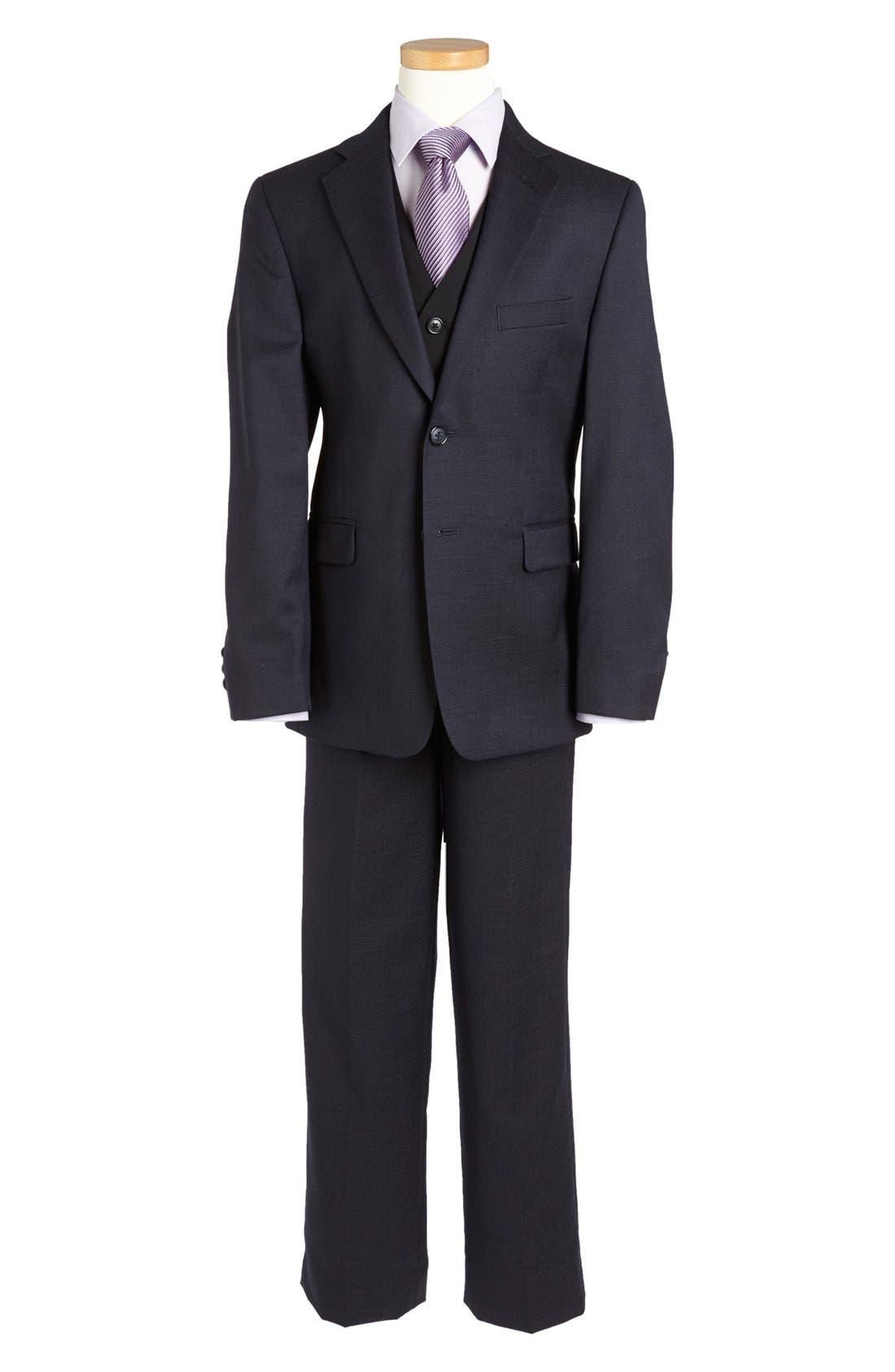 Alternate Image 2  - Joseph Abboud Suit Blazer (Big Boys)