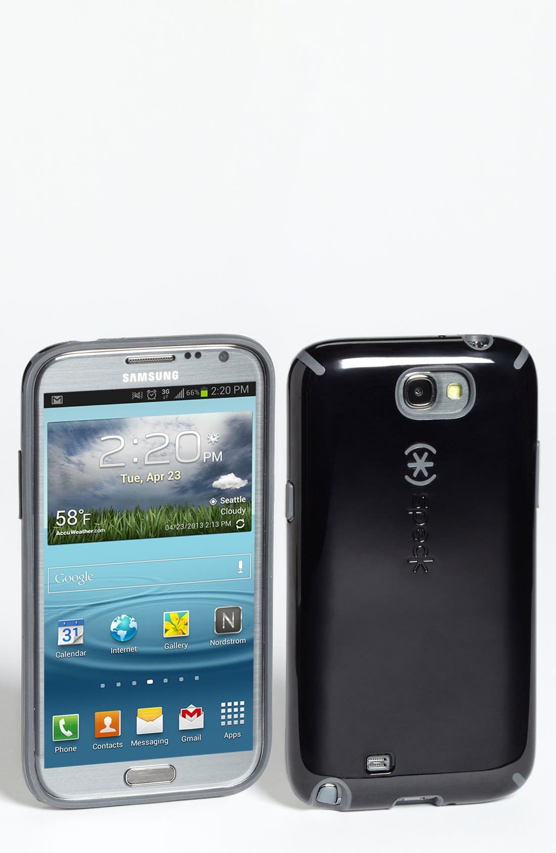 Alternate Image 1 Selected - Speck 'CandyShell™' Samsung Galaxy Note II Case