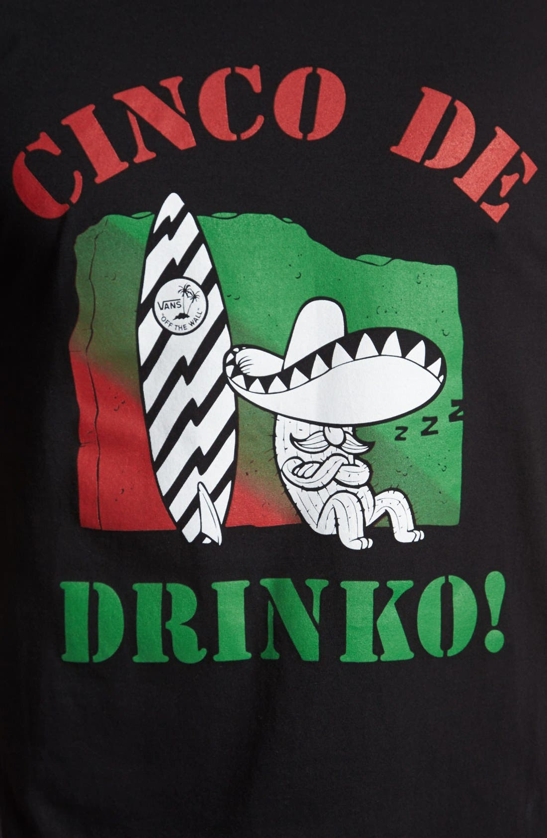 Alternate Image 2  - Vans 'Cinco de Drinko' T-Shirt