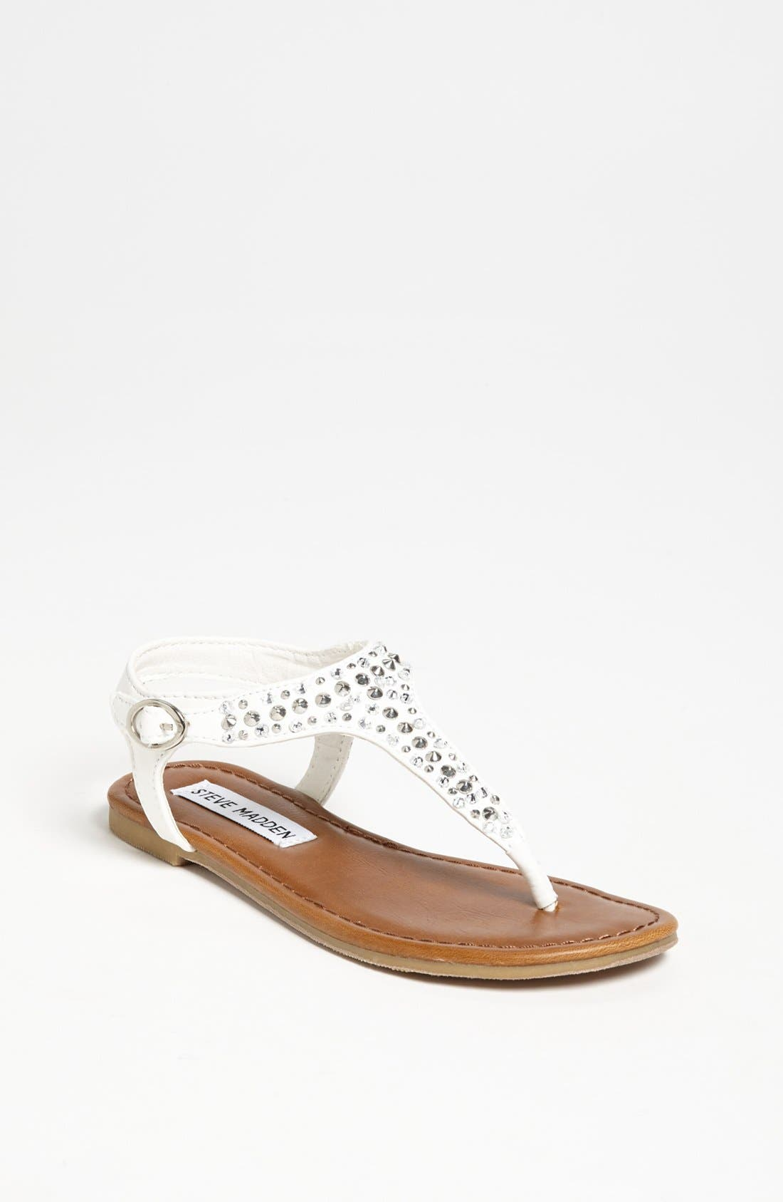 Alternate Image 1 Selected - Steve Madden 'Beyond' Sandal (Toddler, Little Kid & Big Kid)