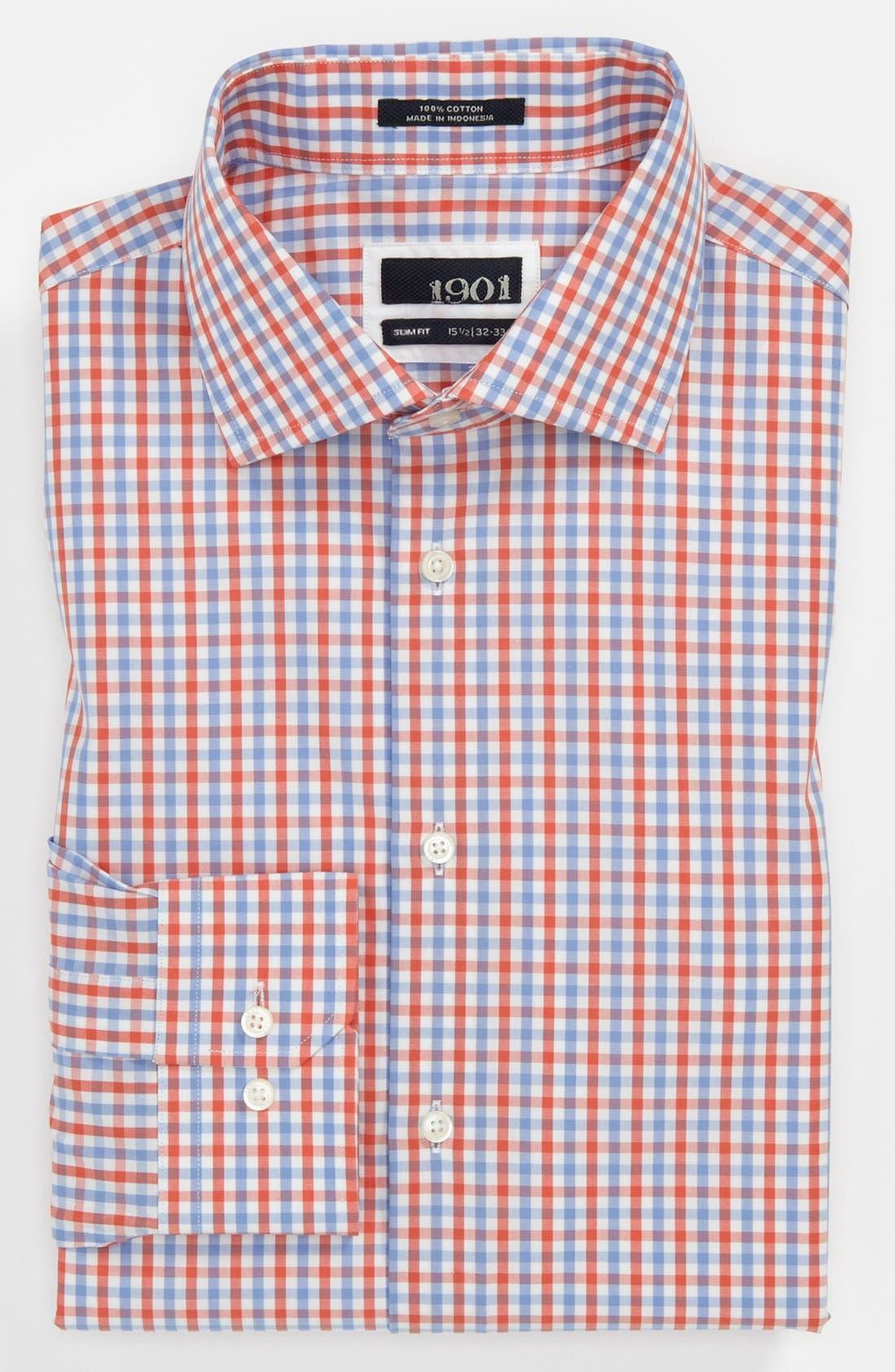Alternate Image 1 Selected - 1901 Slim Fit Dress Shirt