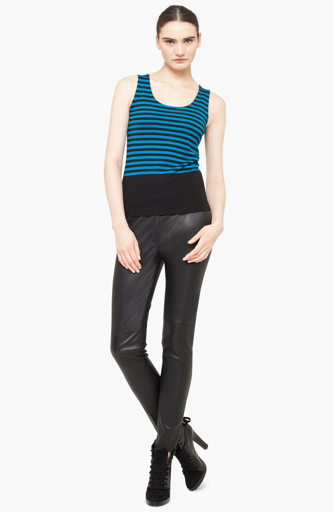 Alternate Image 3  - Akris punto Stripe Wool Tank