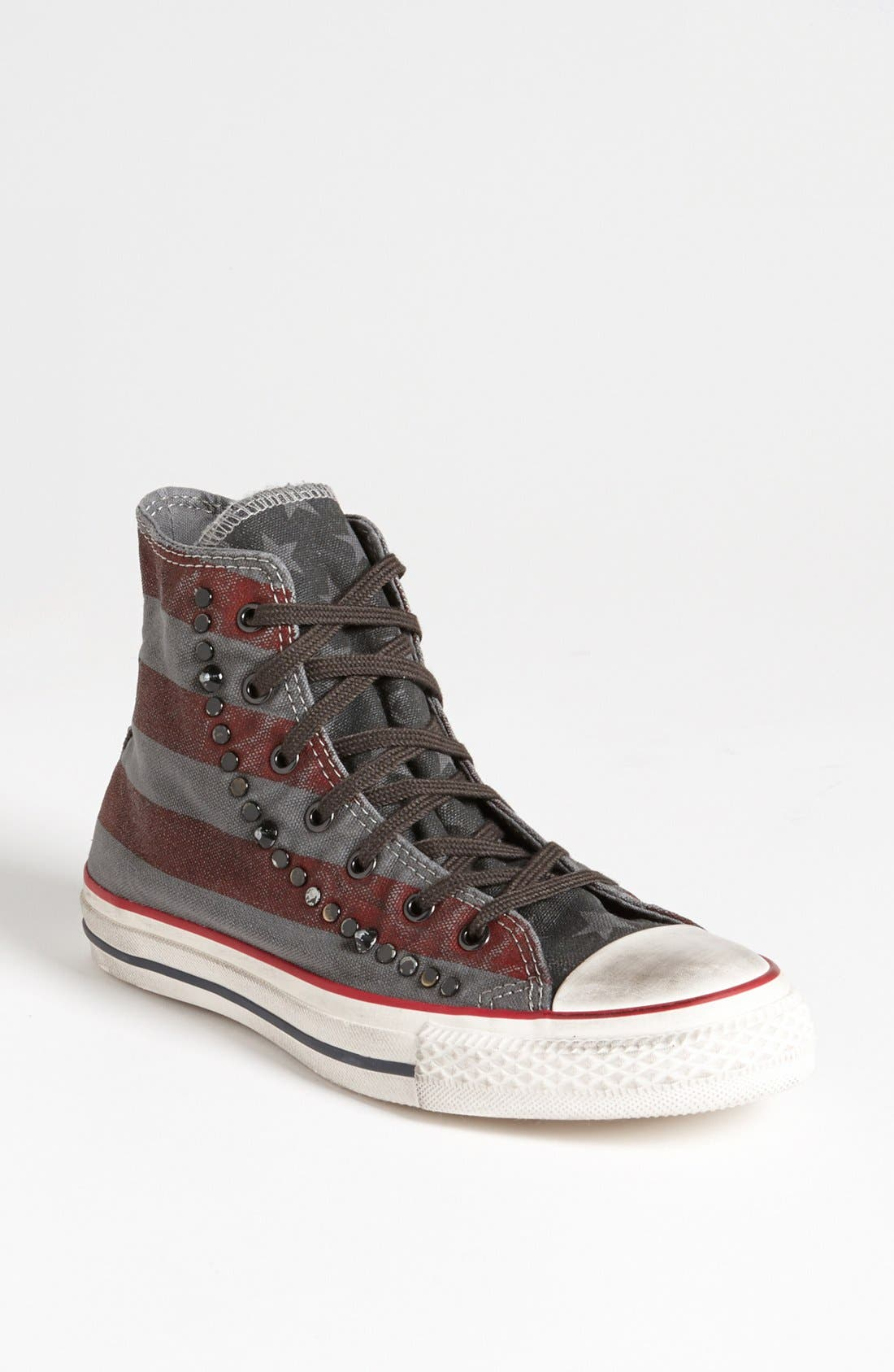 Alternate Image 1 Selected - Converse Chuck Taylor® All Star® 'Stripe and Studs' Sneaker (Women)