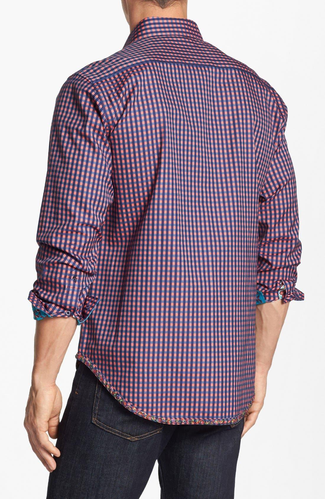 Alternate Image 3  - Robert Graham 'Garrison' Regular Fit Sport Shirt