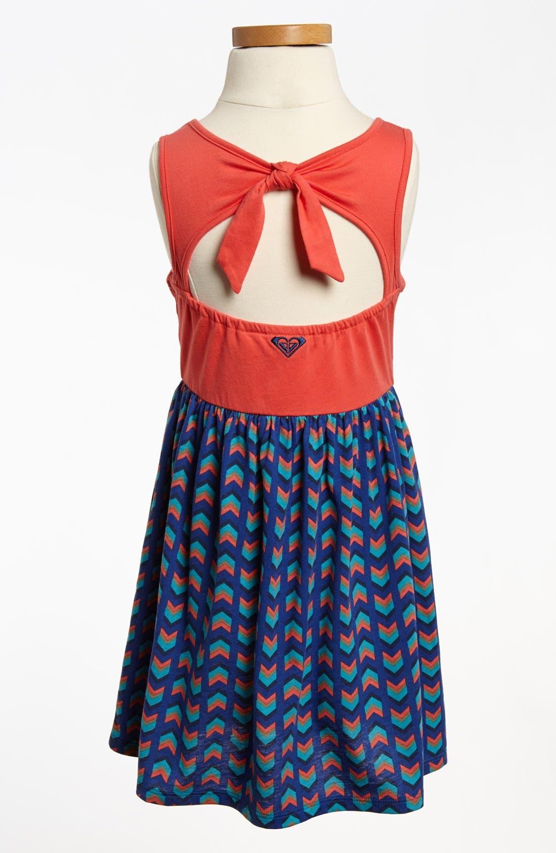 Alternate Image 2  - Tank Dress (Toddler Girls)