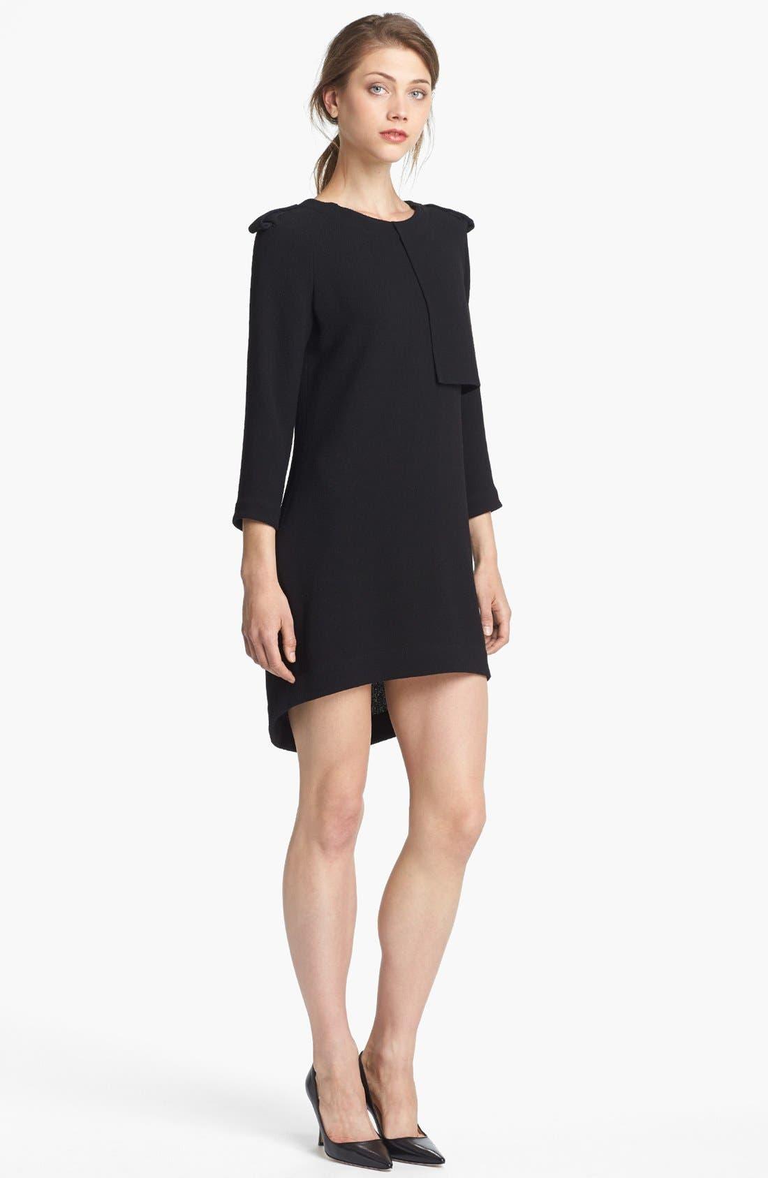 Main Image - A.L.C. 'Svieta' Wool High/Low Dress