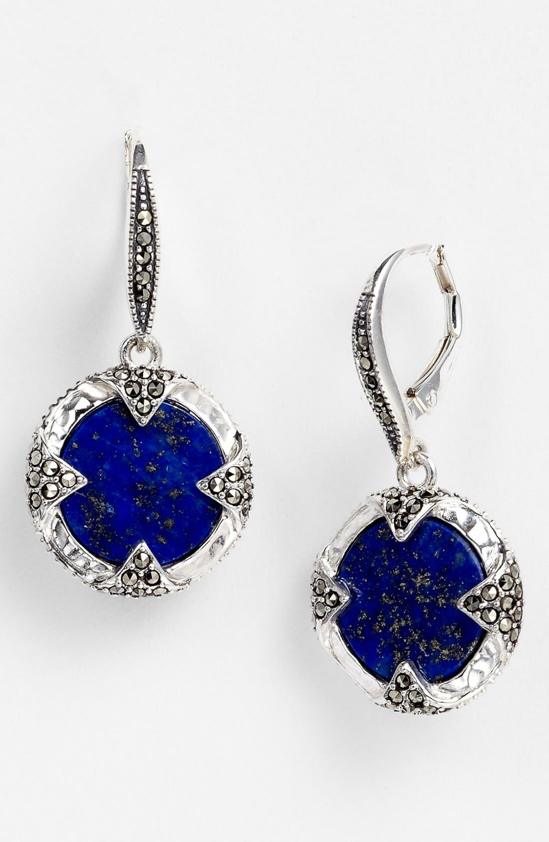 Main Image - Judith Jack 'Coin' Drop Earrings