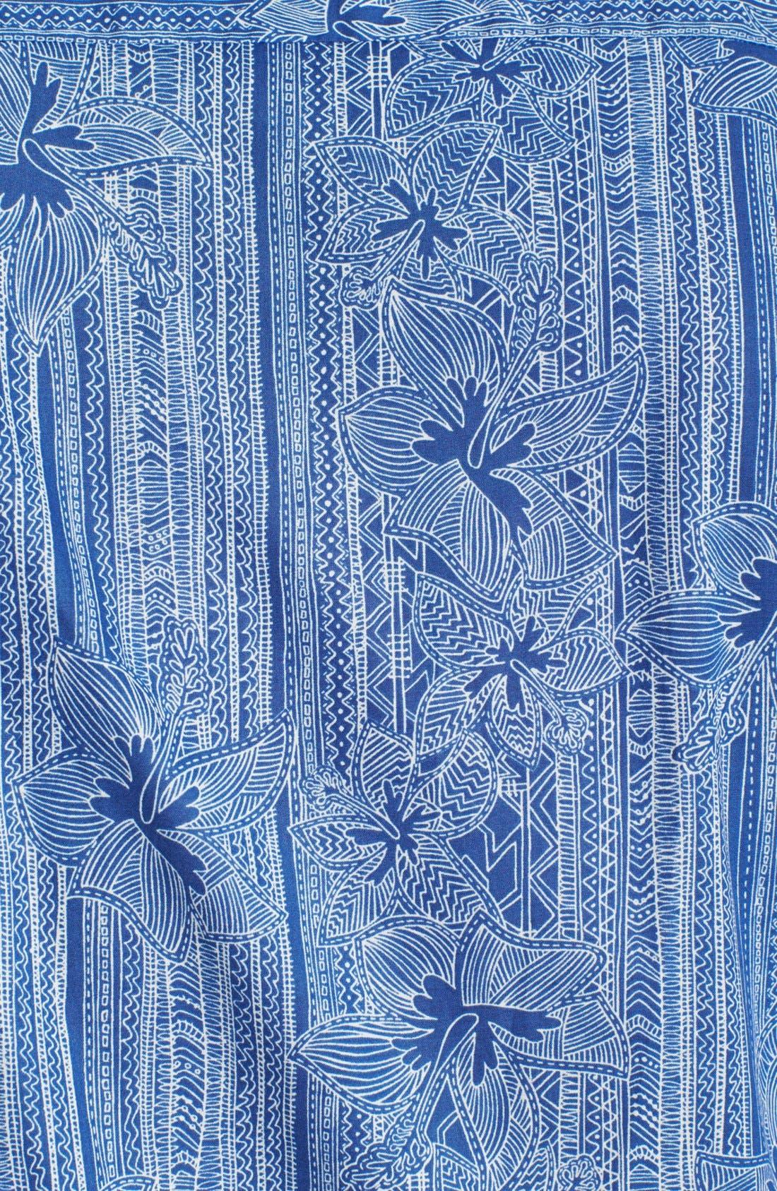 Alternate Image 3  - Tori Richard 'Wall Flower' Short Sleeve Sport Shirt